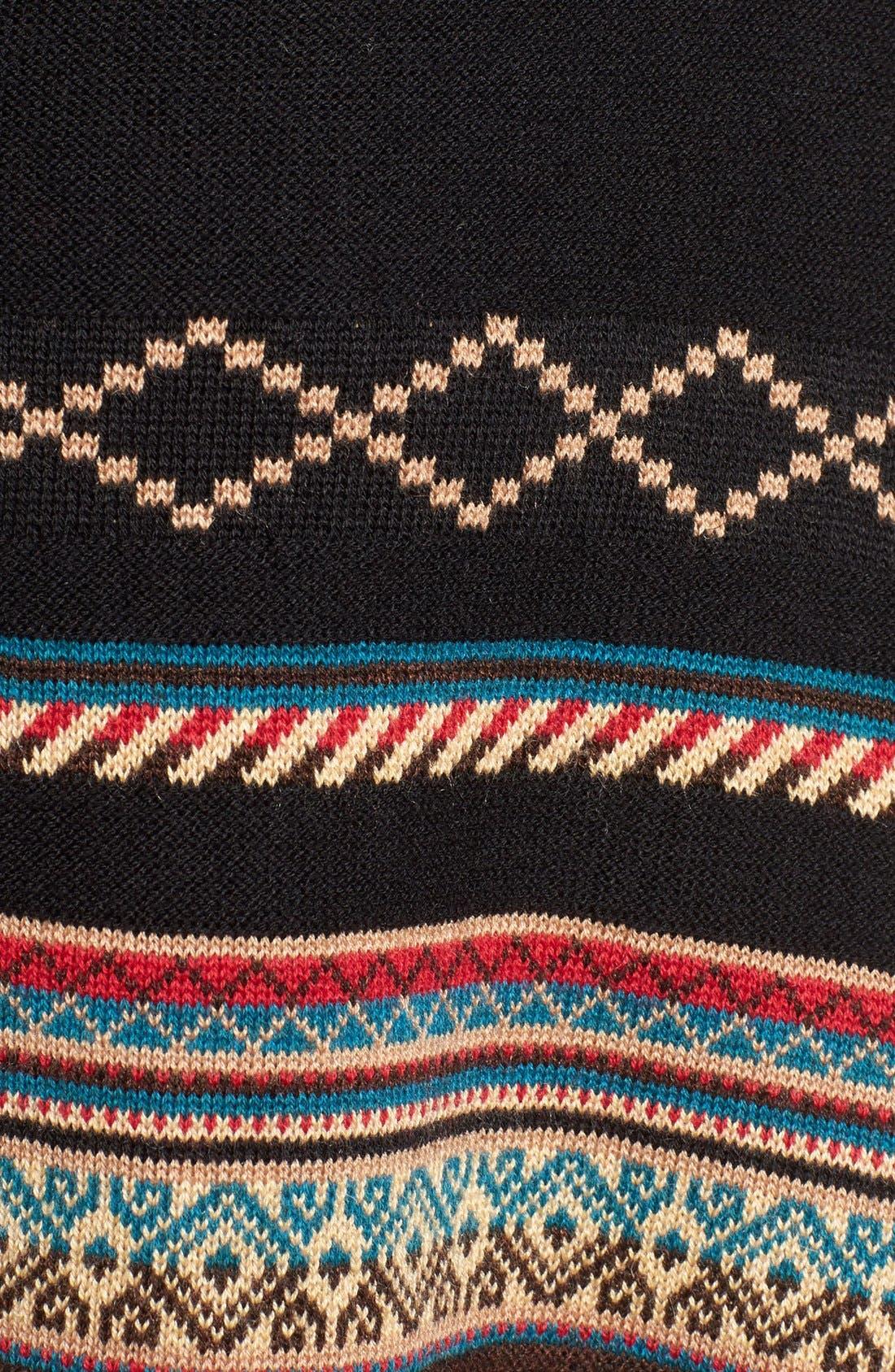 Stripe Jacquard Cardigan,                             Alternate thumbnail 5, color,                             006