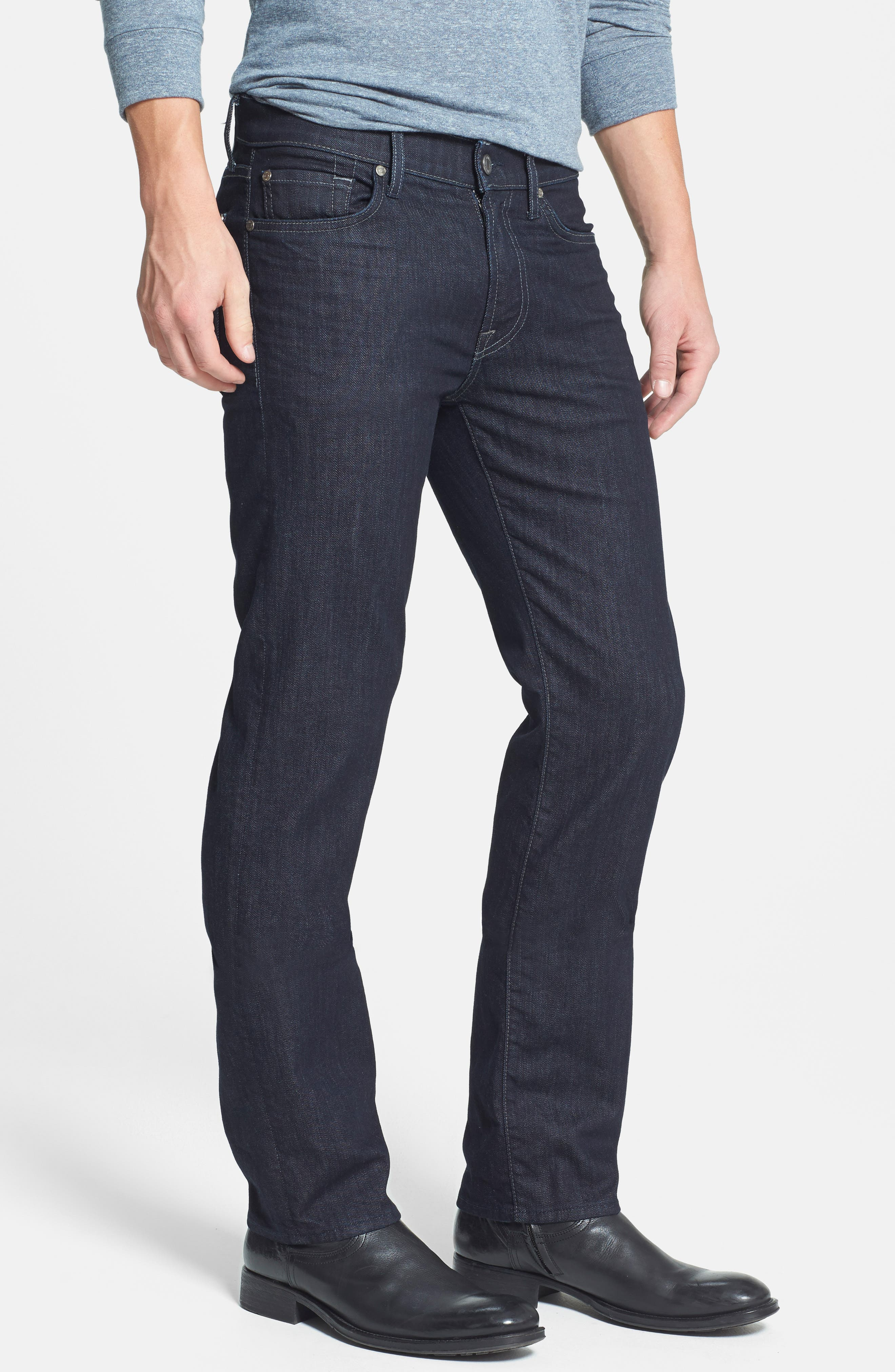 7 FOR ALL MANKIND<SUP>®</SUP>,                             'Slimmy - Luxe Performance' Slim Fit Jeans,                             Alternate thumbnail 5, color,                             400