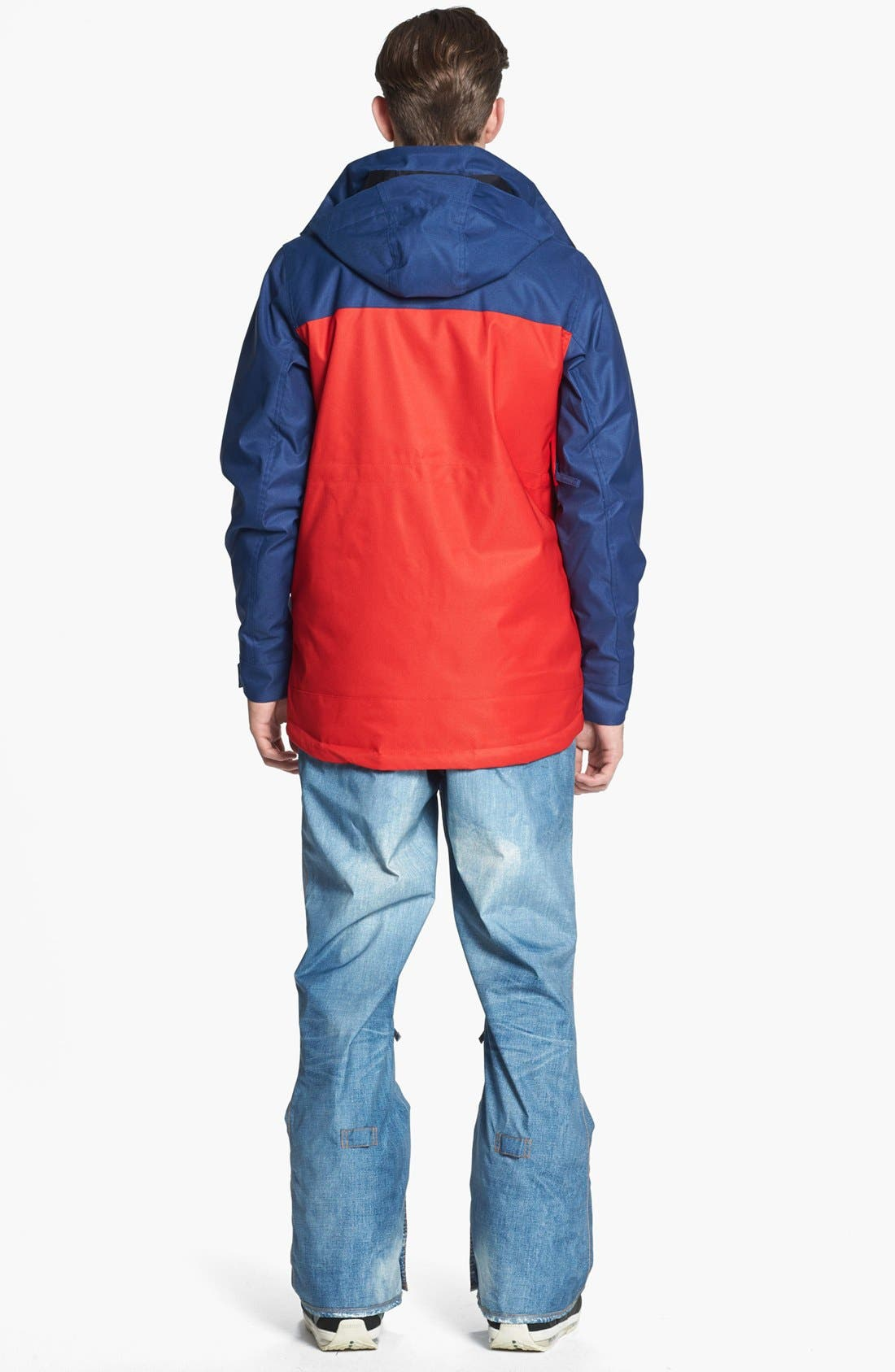 BURTON,                             'The White Collection - Cannon' Waterproof Jacket,                             Alternate thumbnail 5, color,                             414