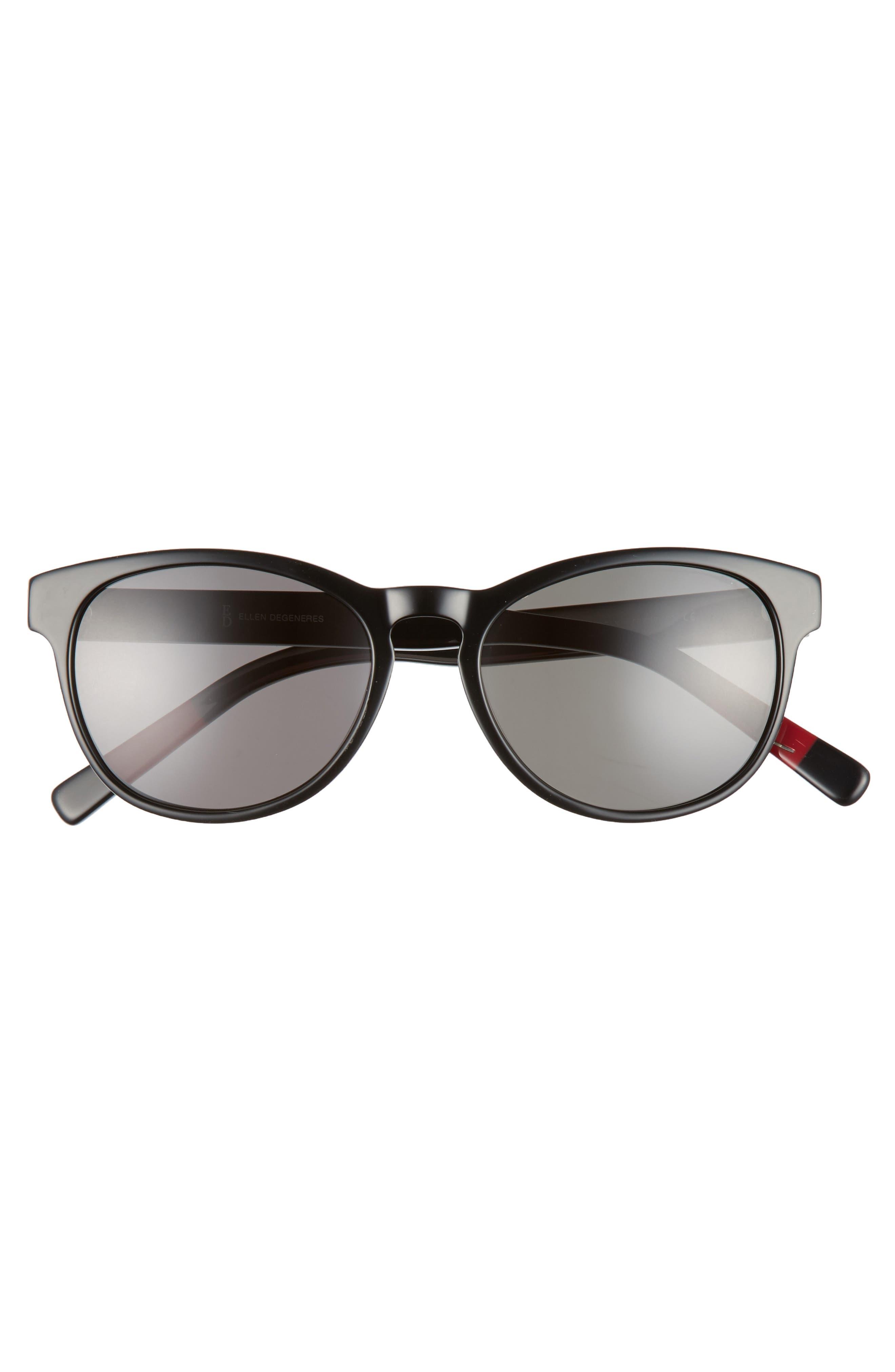 50mm Gradient Sunglasses,                             Alternate thumbnail 3, color,                             001