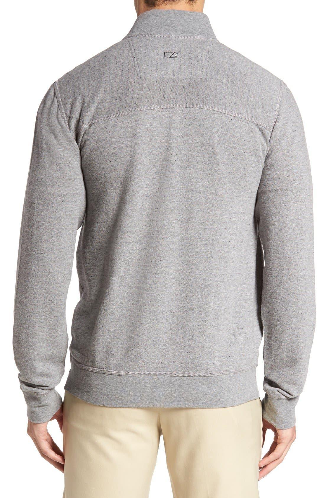 'Gleann' Quarter Zip Pullover,                             Alternate thumbnail 2, color,