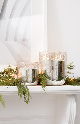 Fill your home with festive: holiday decorations.