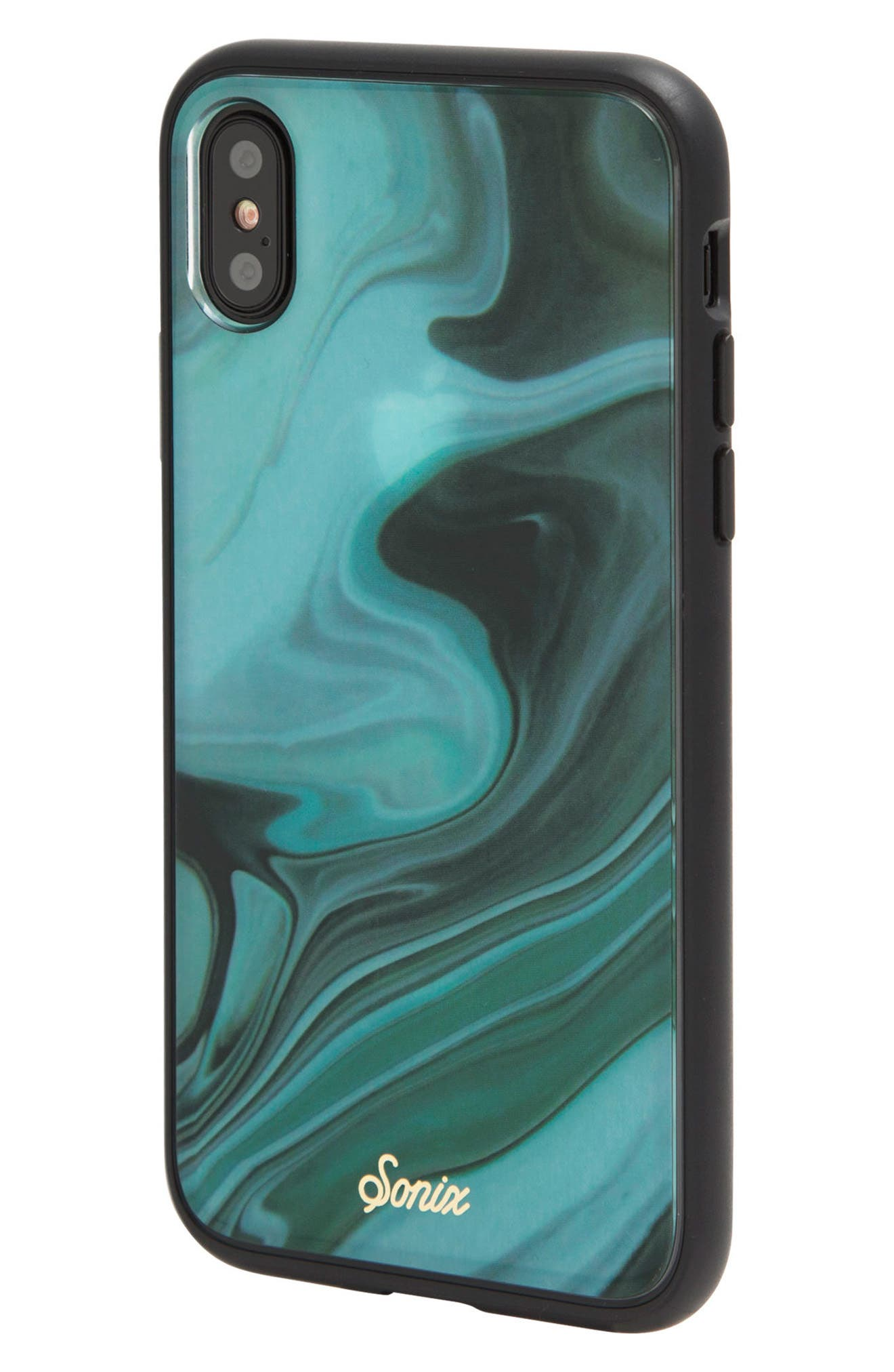 Jade Print iPhone X Case,                             Alternate thumbnail 2, color,                             300