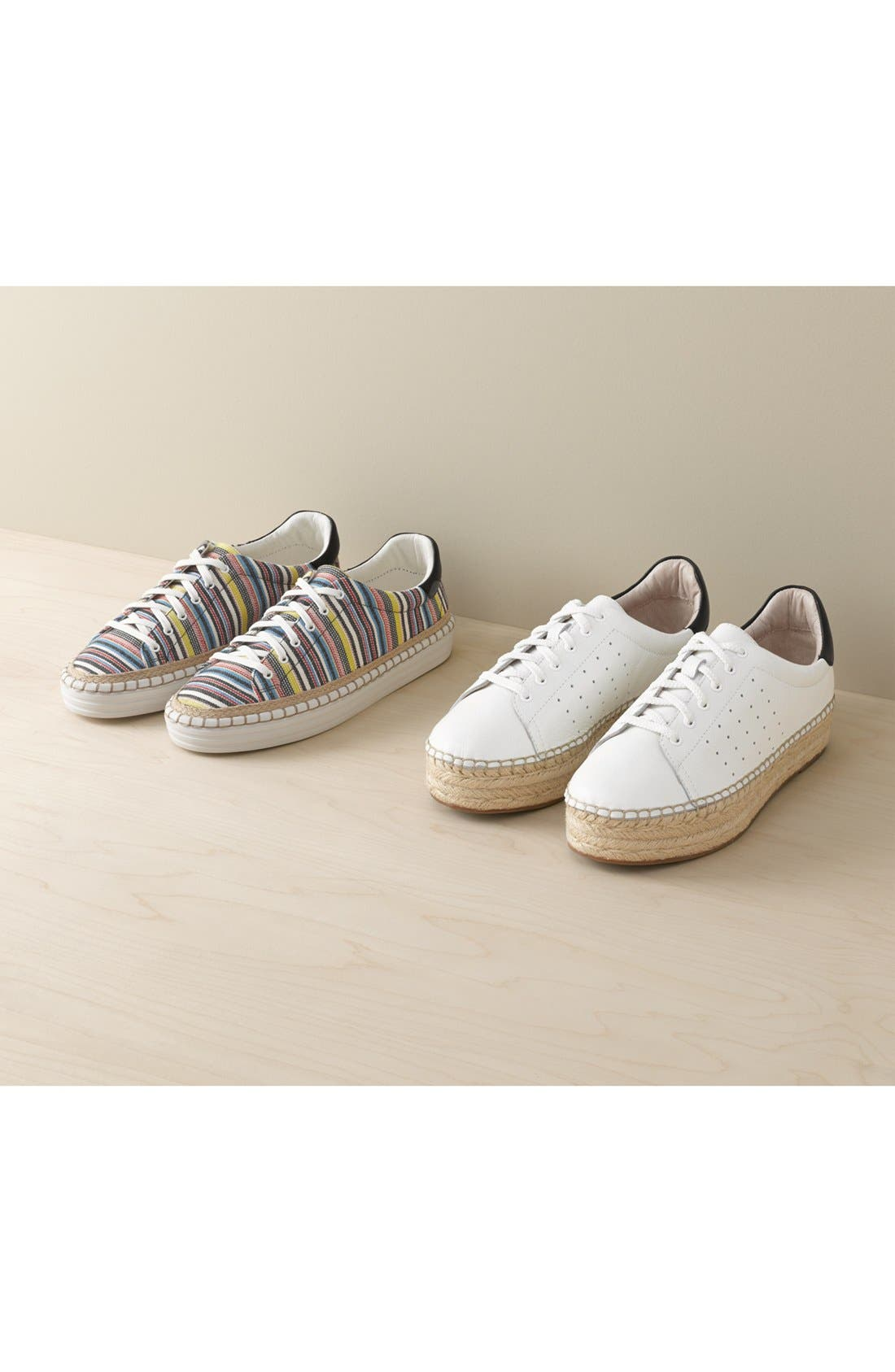 Jinnie Platform Sneaker,                             Alternate thumbnail 5, color,                             110