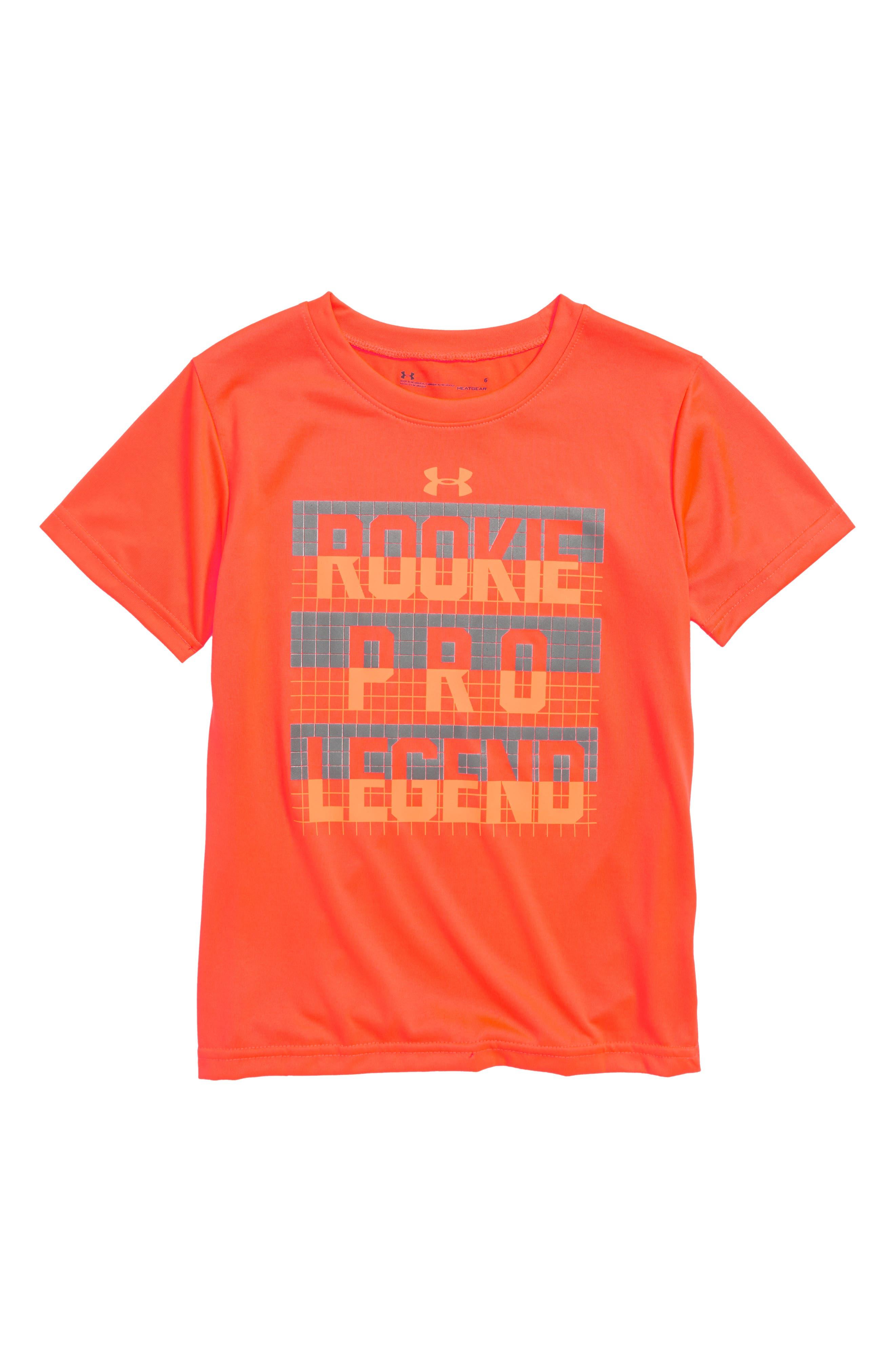 Rookie Pro Legend HeatGear<sup>®</sup> Shirt,                             Main thumbnail 1, color,                             820