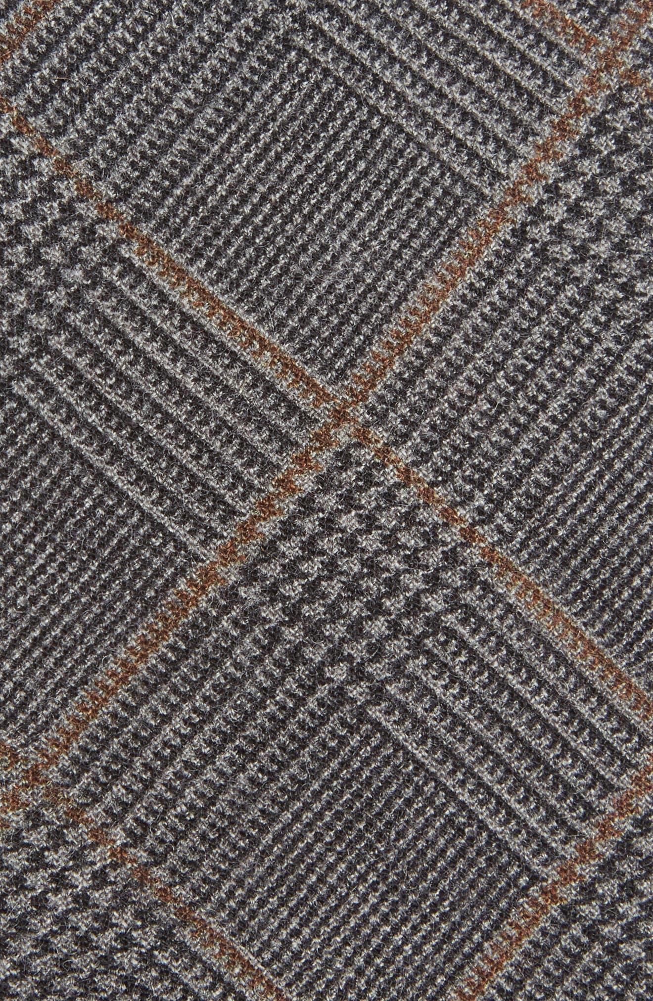 Dupont Glen Plaid Wool Tie,                             Alternate thumbnail 2, color,                             400