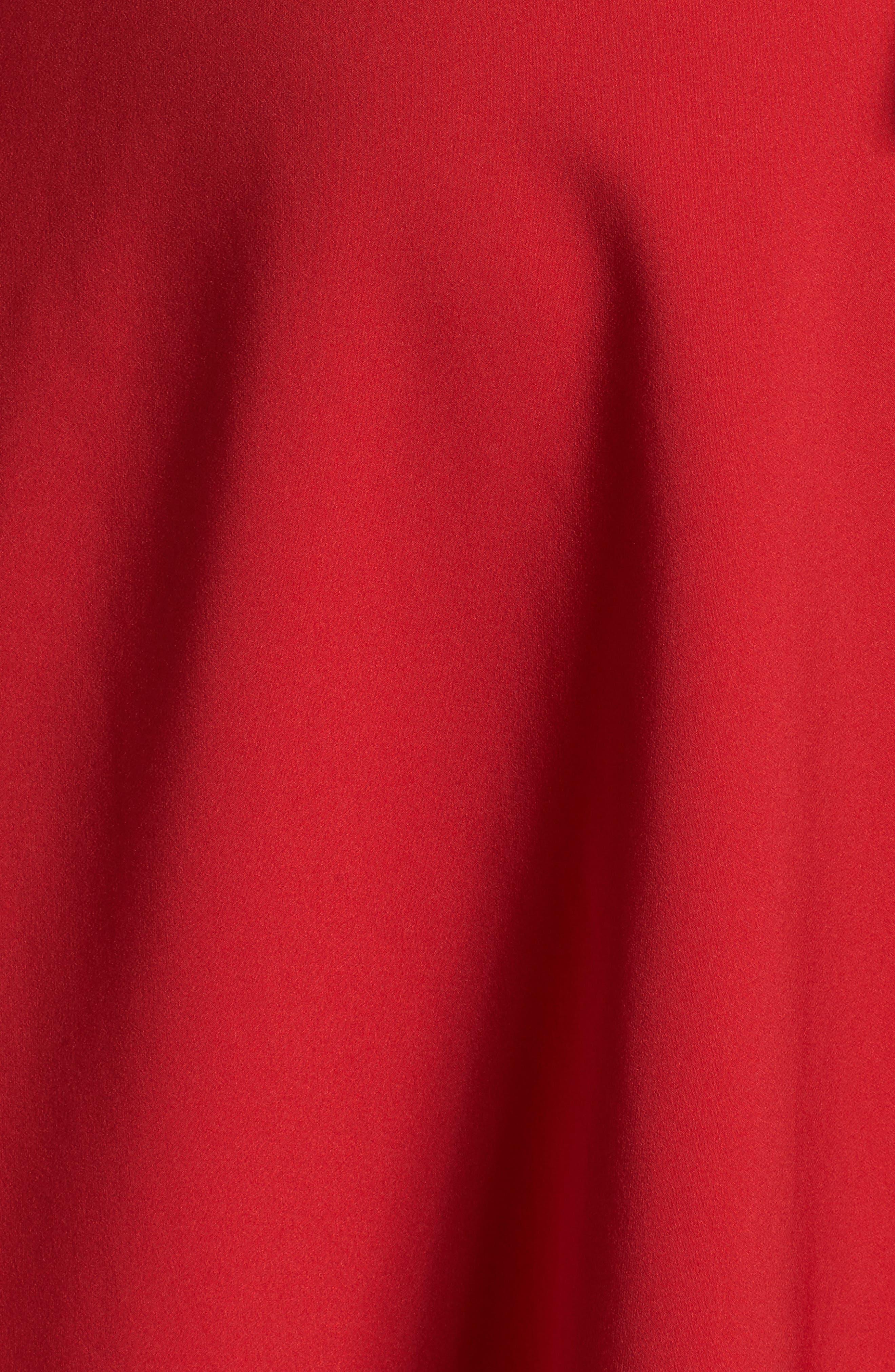 Fit & Flare Wrap Dress,                             Alternate thumbnail 5, color,                             623