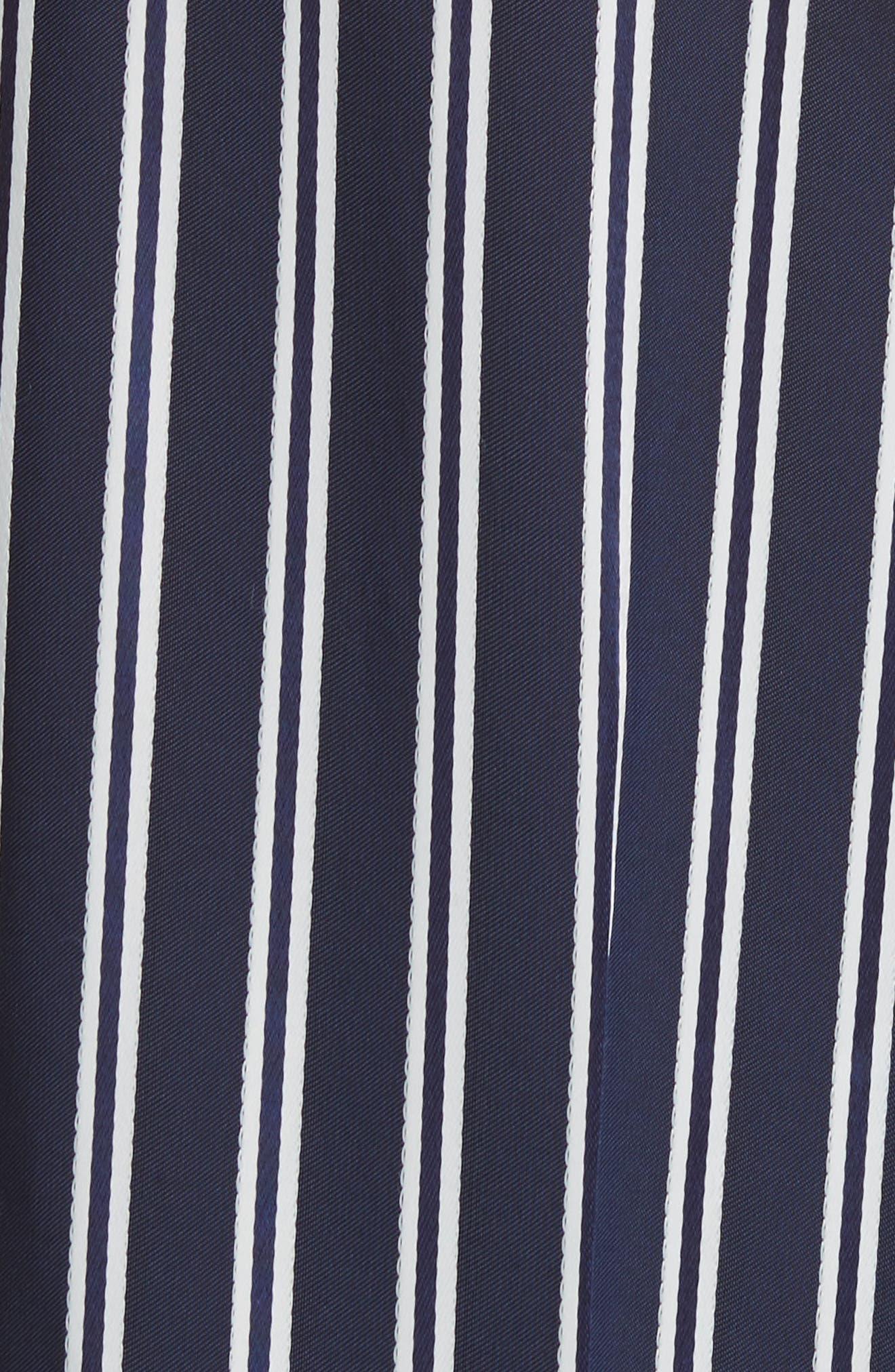 Diane von Furstenberg Stripe Palazzo Pants,                             Alternate thumbnail 5, color,