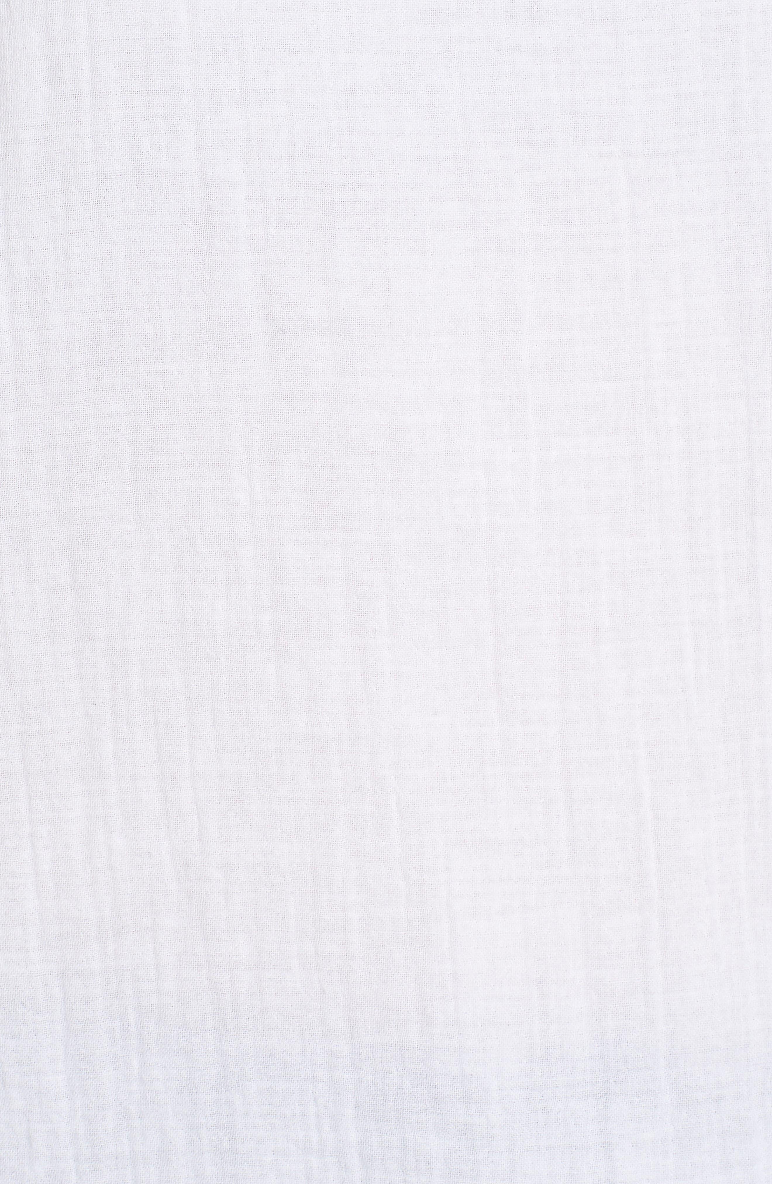 Organic Cotton Swing Shell,                             Alternate thumbnail 5, color,                             100