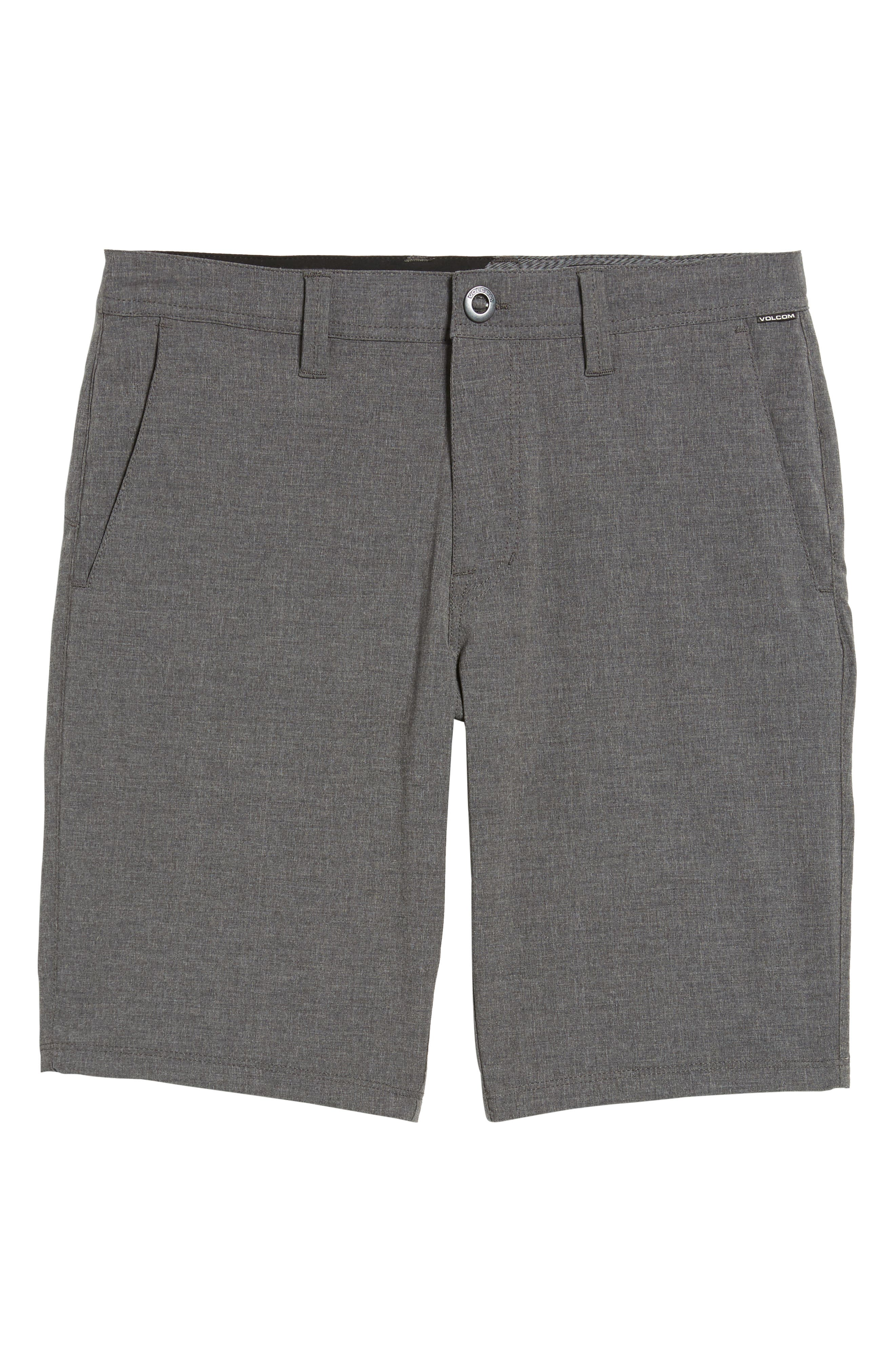 Hybrid Shorts,                             Alternate thumbnail 6, color,                             CHARCOAL