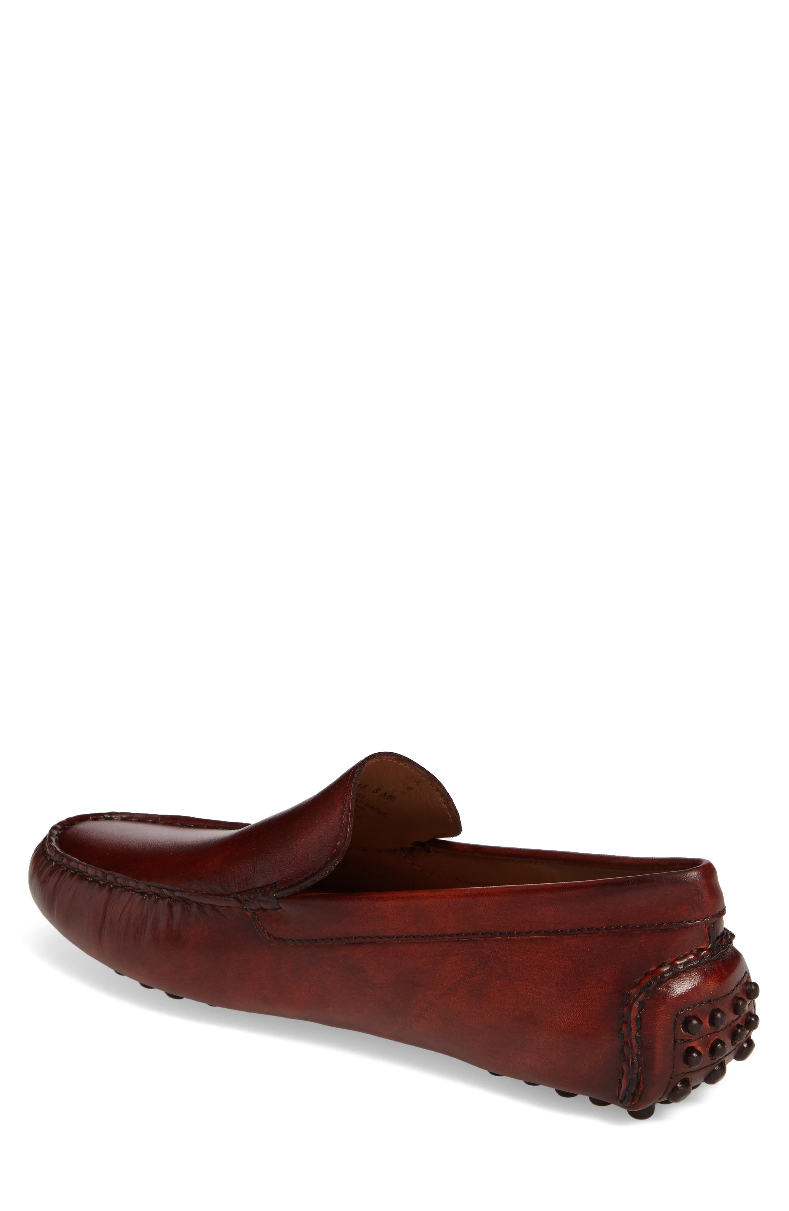 Cane Driving Shoe,                             Alternate thumbnail 2, color,                             TAN LEATHER