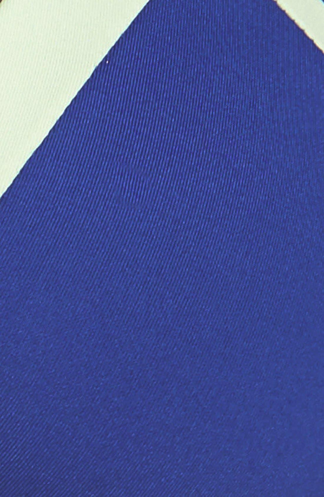 'Platinum' Strappy Colorblock Bikini Top,                             Alternate thumbnail 2, color,                             423