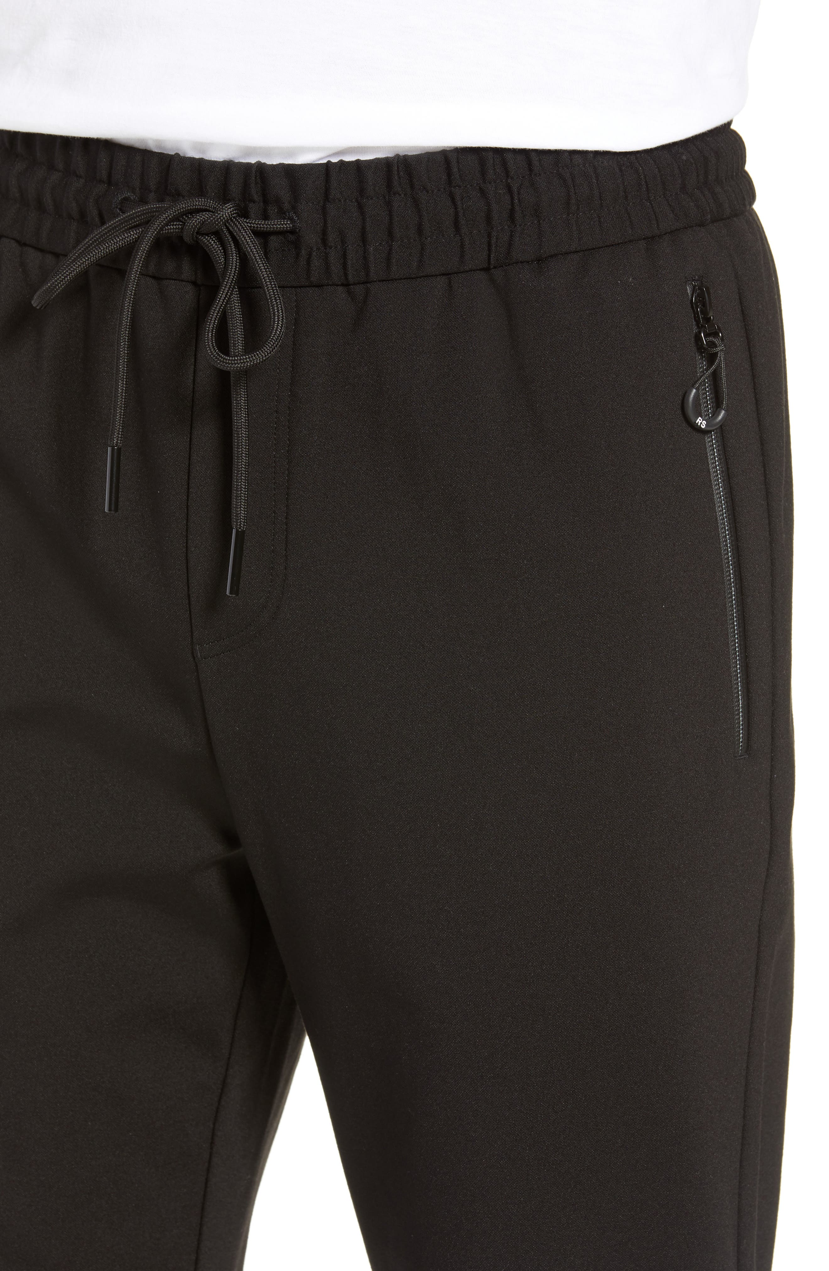 RIVER STONE,                             Slim Fit Pants,                             Alternate thumbnail 4, color,                             001