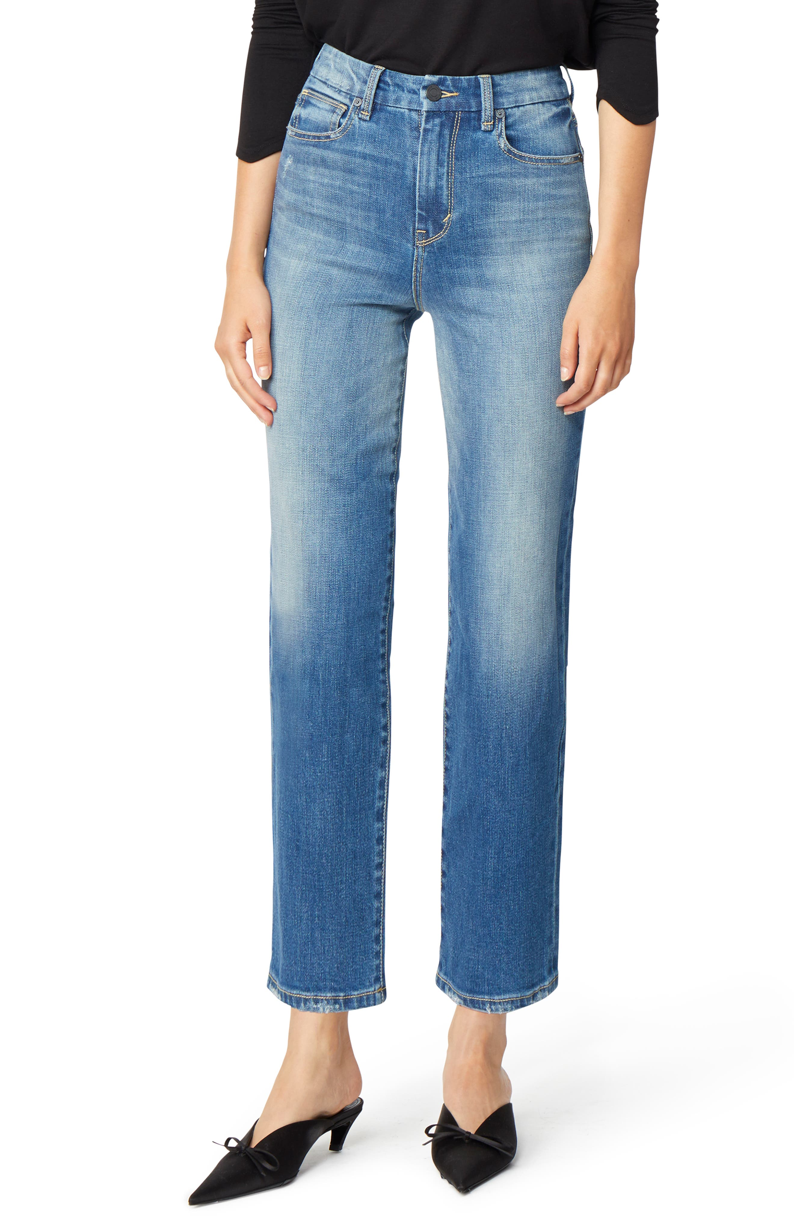 Haven Super High Rise Straight Leg Jeans,                         Main,                         color, IMPERIAL