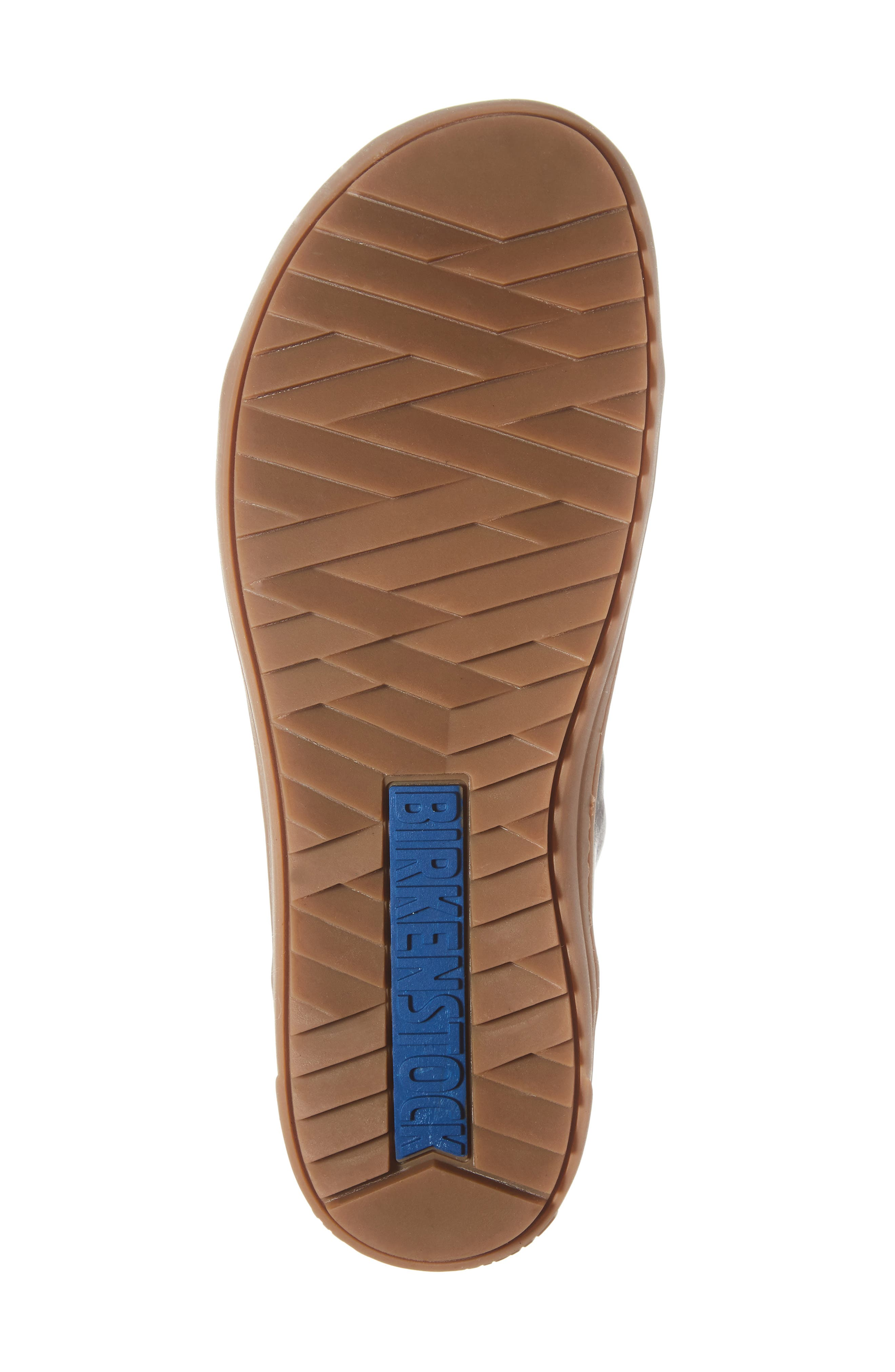 Barlett Genuine Shearling Sneaker,                             Alternate thumbnail 6, color,                             BROWN