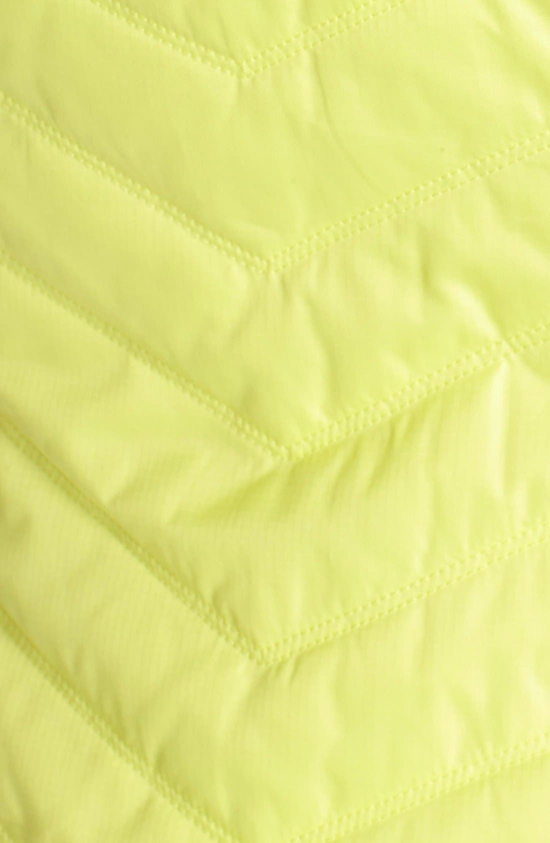 Zelfusion Reflective Quilted Jacket,                             Alternate thumbnail 33, color,