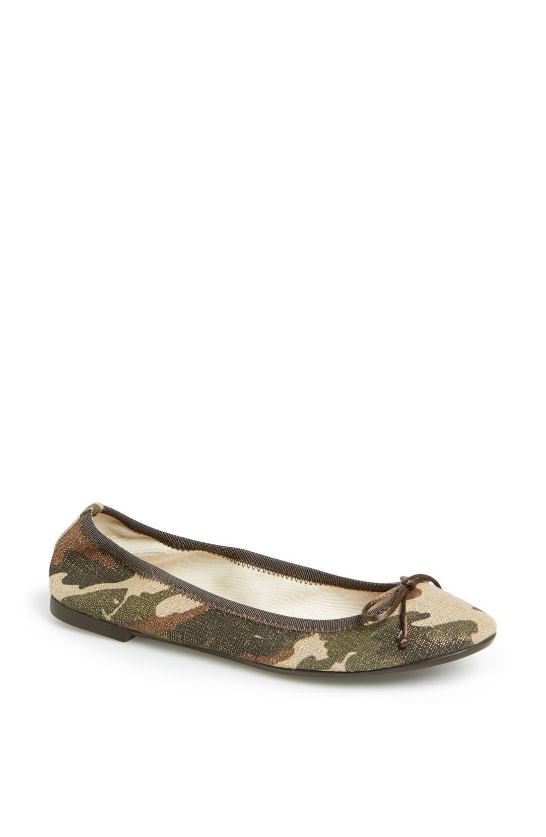 Camouflage Ballet Flat,                             Main thumbnail 1, color,                             340