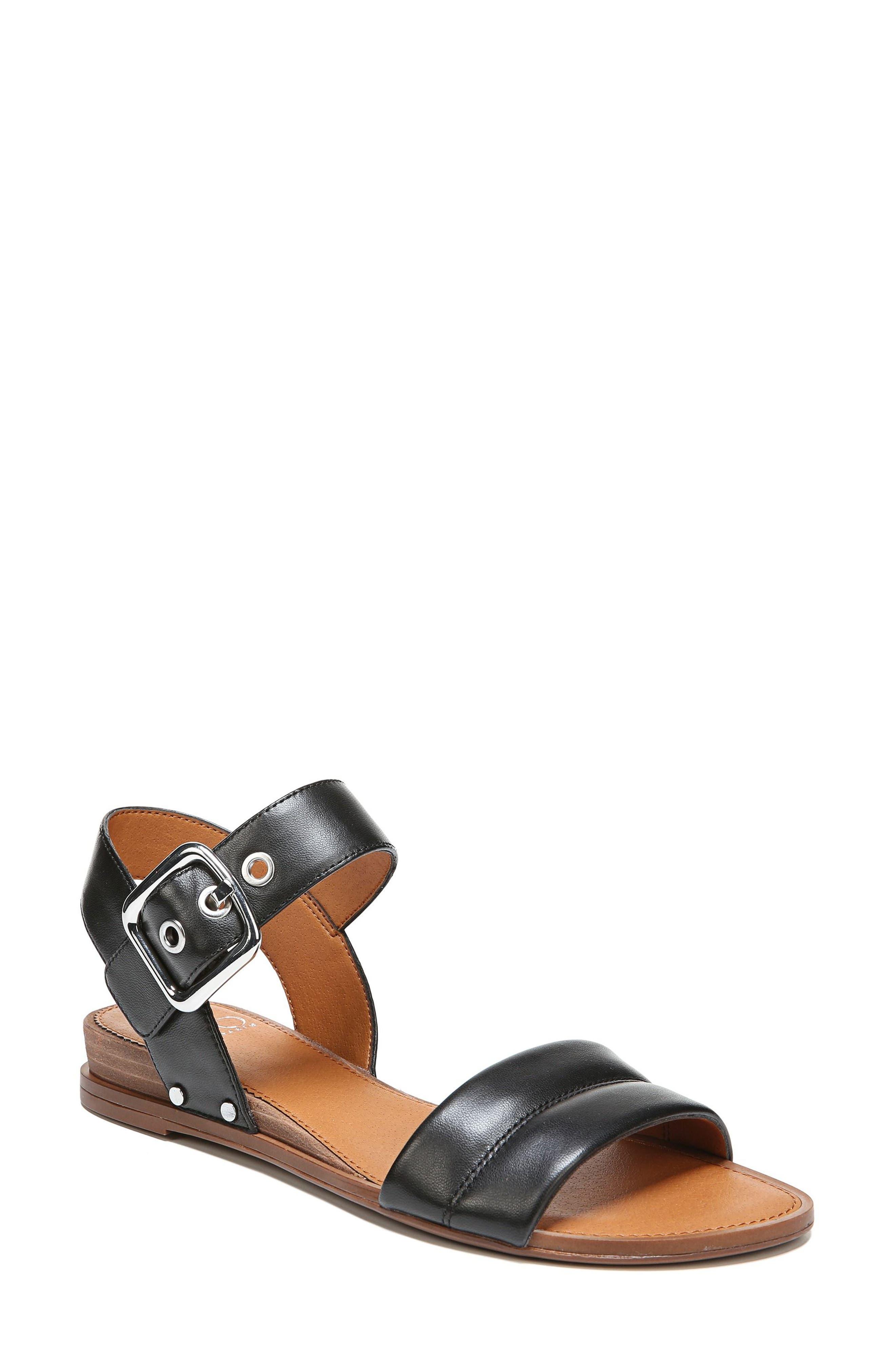 Patterson Low Wedge Sandal,                         Main,                         color, 001