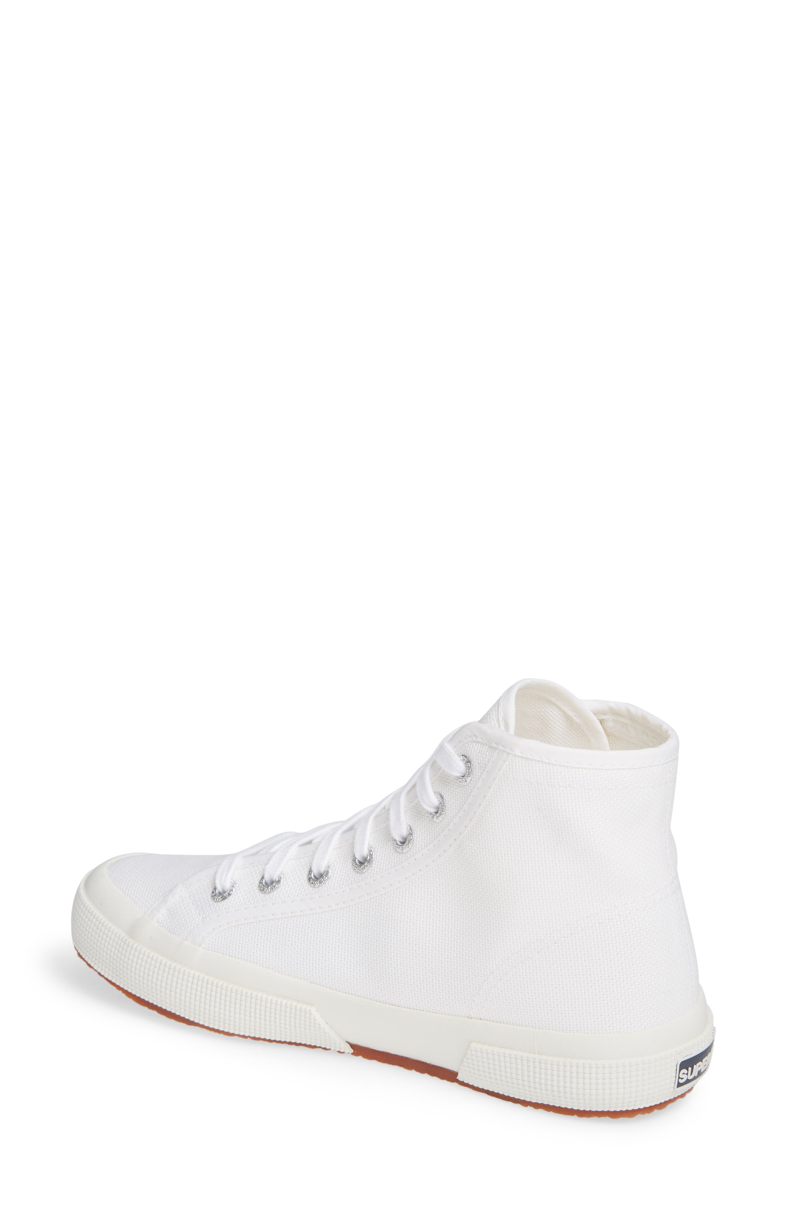2795 High Top Sneaker,                             Alternate thumbnail 2, color,                             WHITE