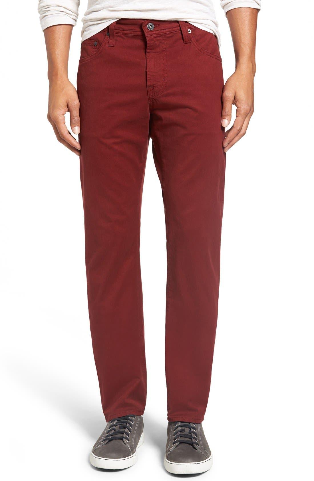 'Matchbox BES' Slim Fit Pants,                             Main thumbnail 41, color,