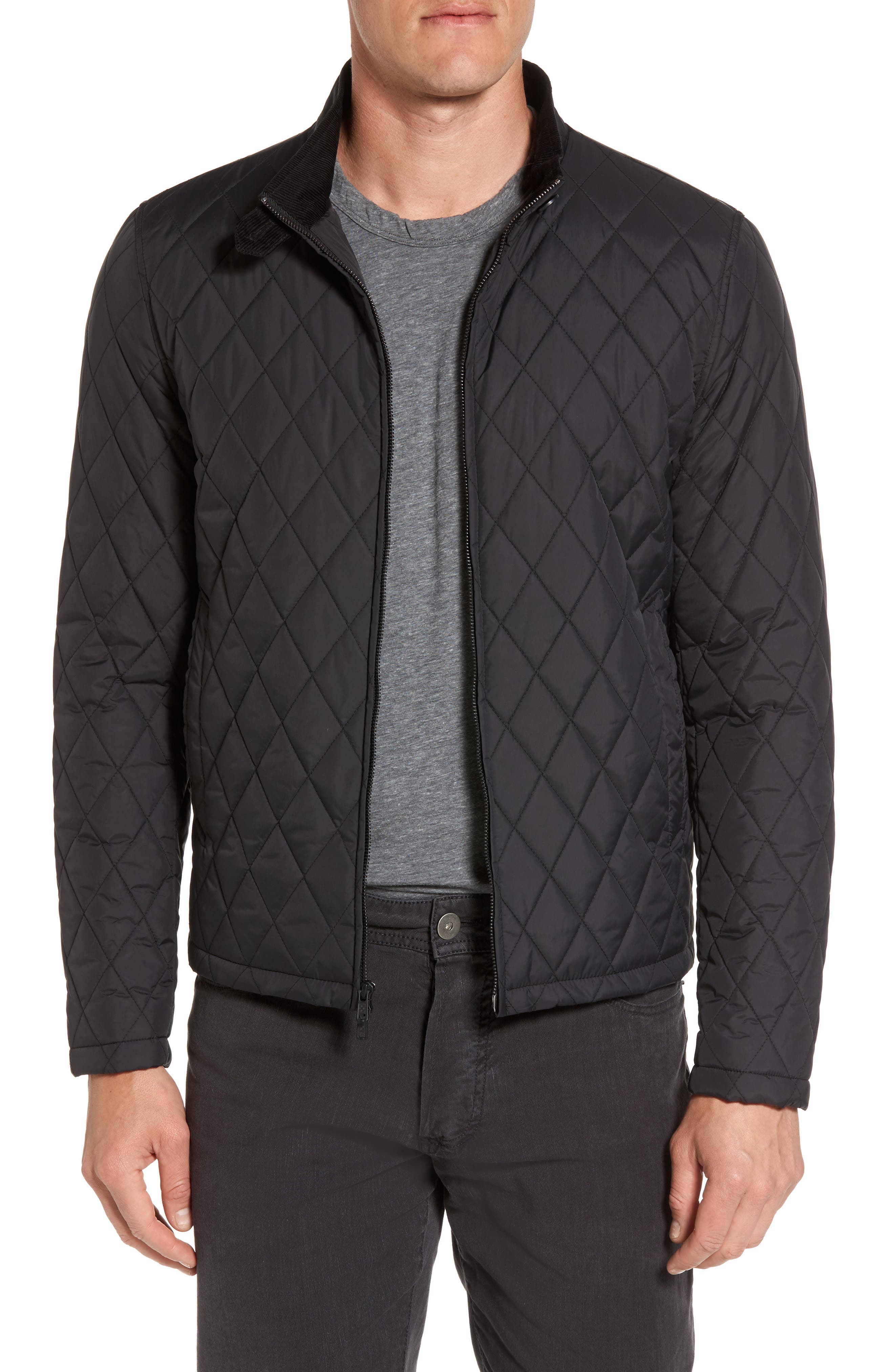 Quilted Moto Jacket,                             Alternate thumbnail 2, color,