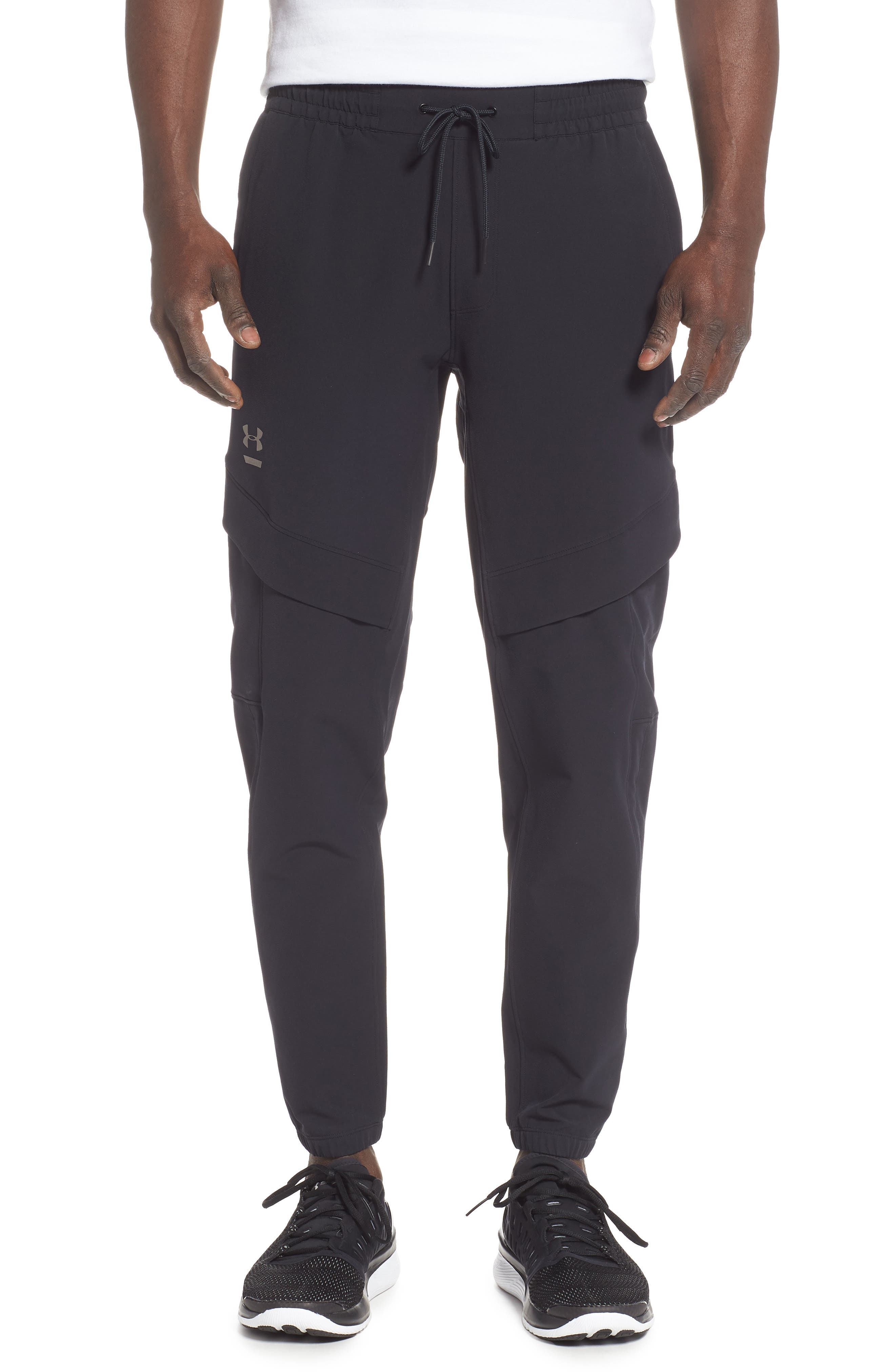 Under Armour Perpetual Cargo Pants, Black