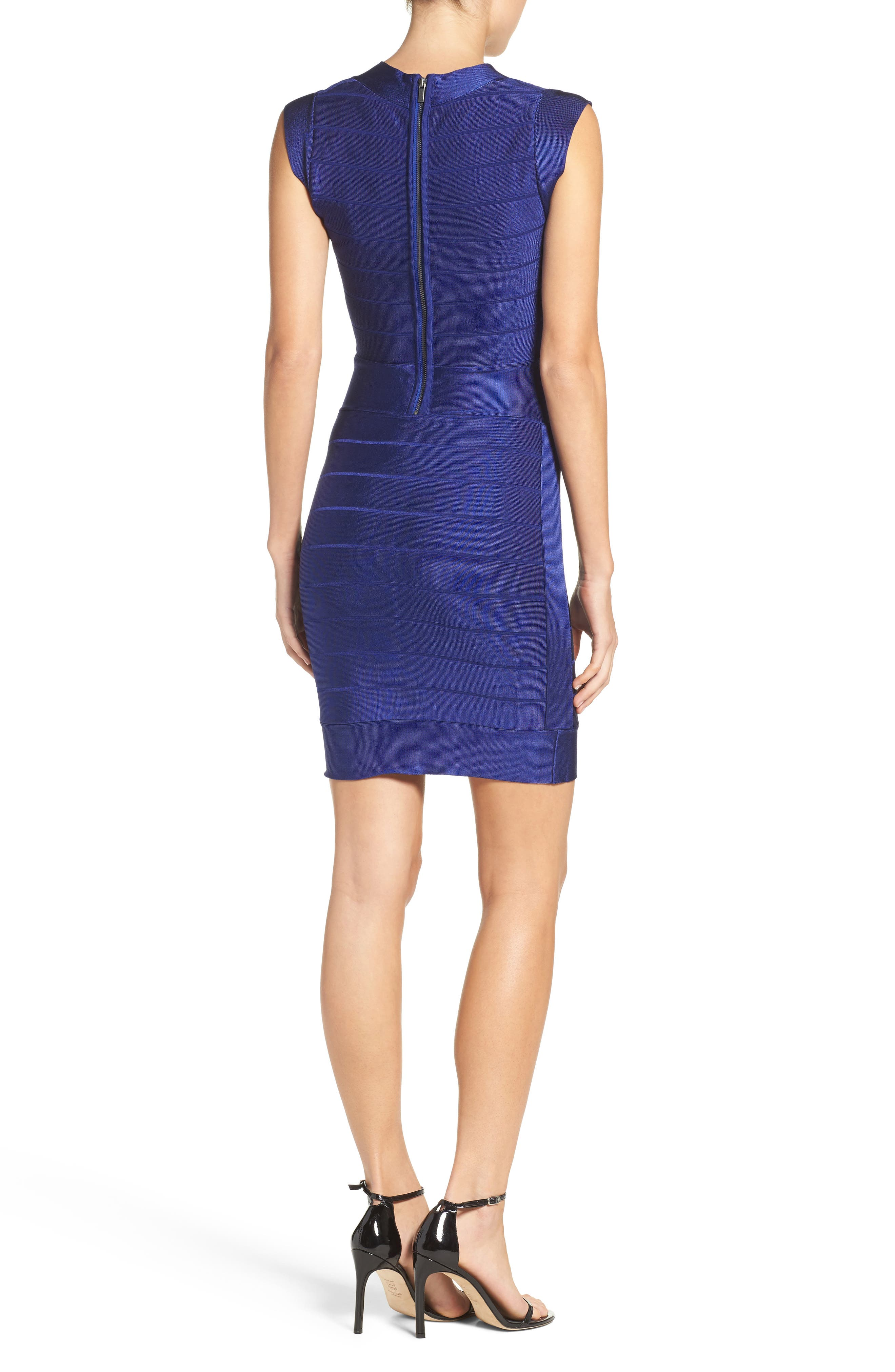 Spotlight Bandage Dress,                             Alternate thumbnail 2, color,                             431