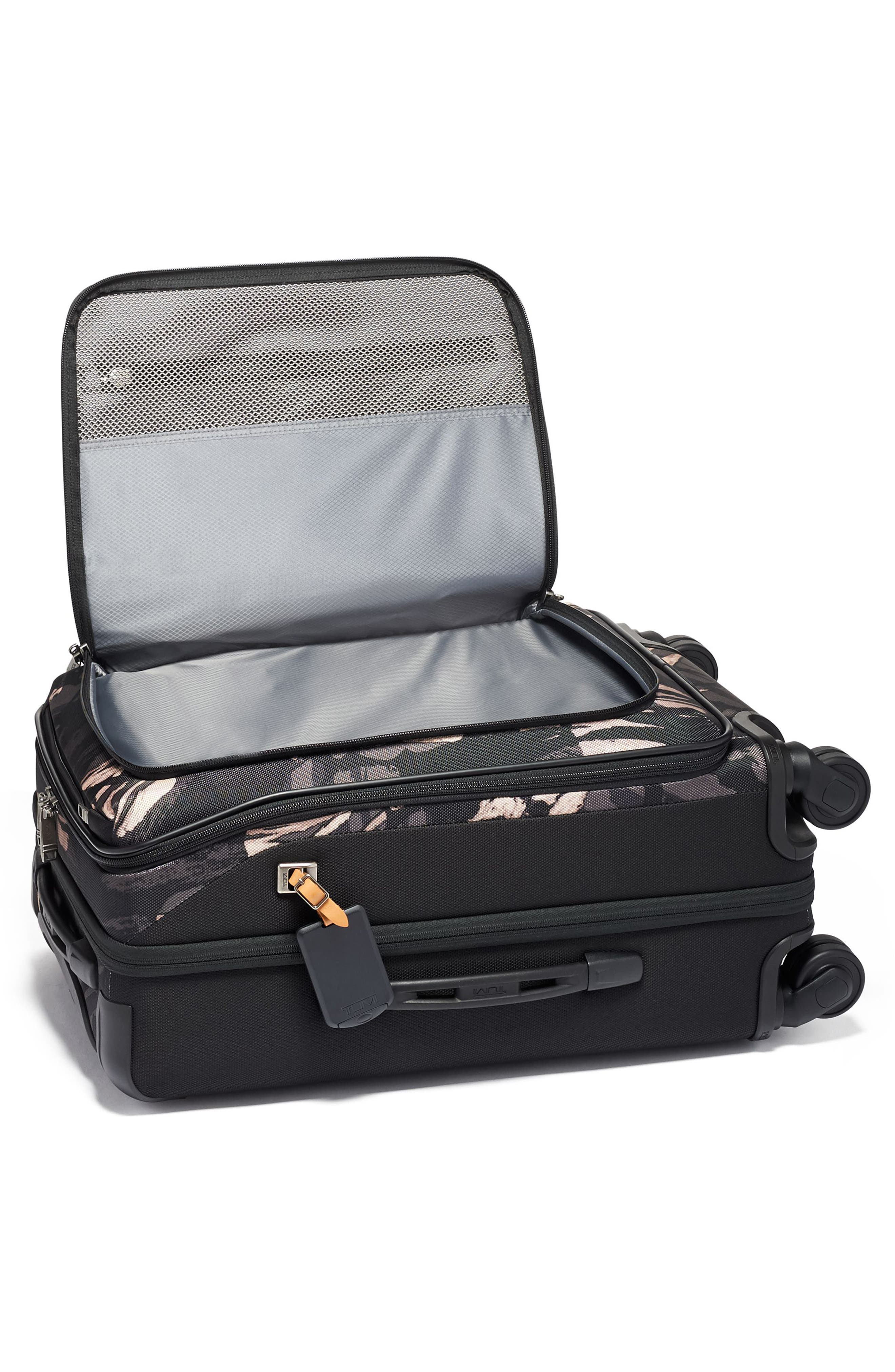 Merge 22-Inch International Expandable Rolling Carry-On,                             Alternate thumbnail 5, color,                             GREY HIGHLANDS PRINT