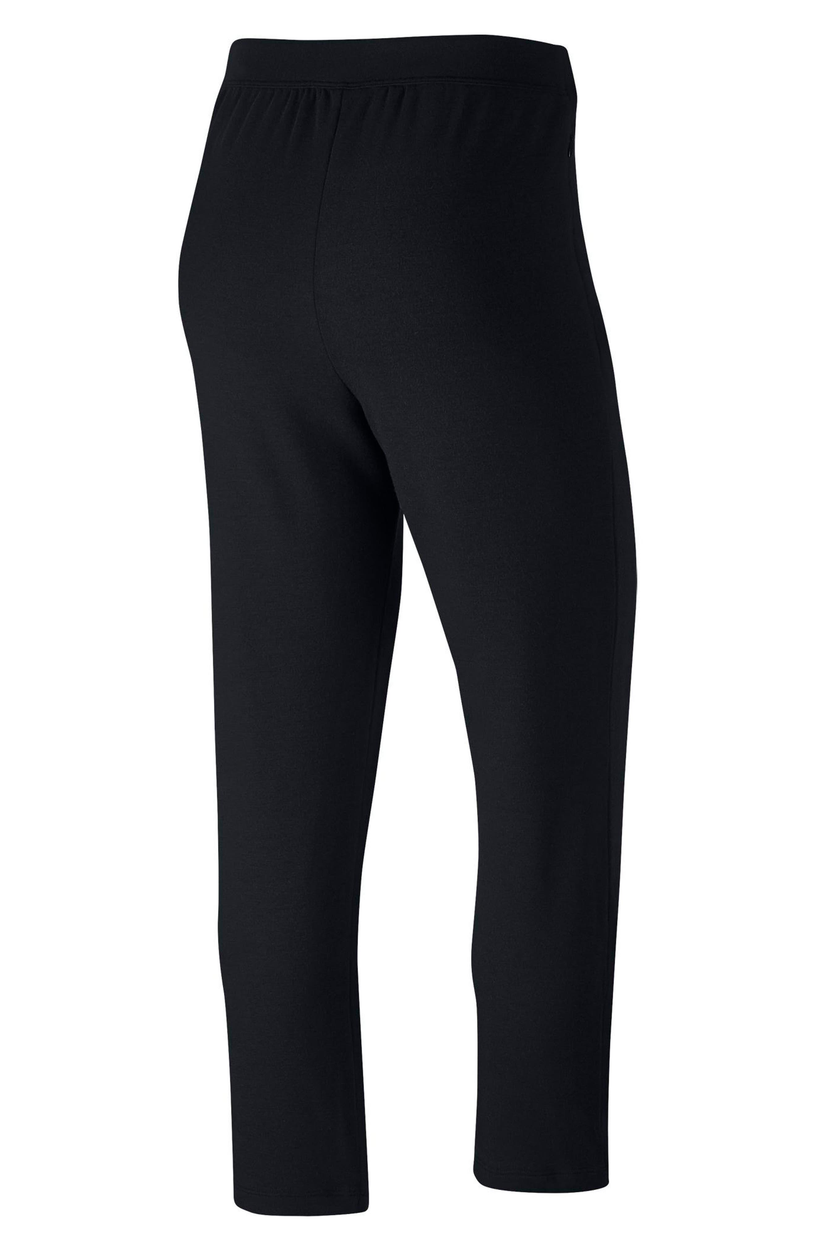 NIKE,                             Dry Studio Training Pants,                             Alternate thumbnail 8, color,                             BLACK/ BLACK