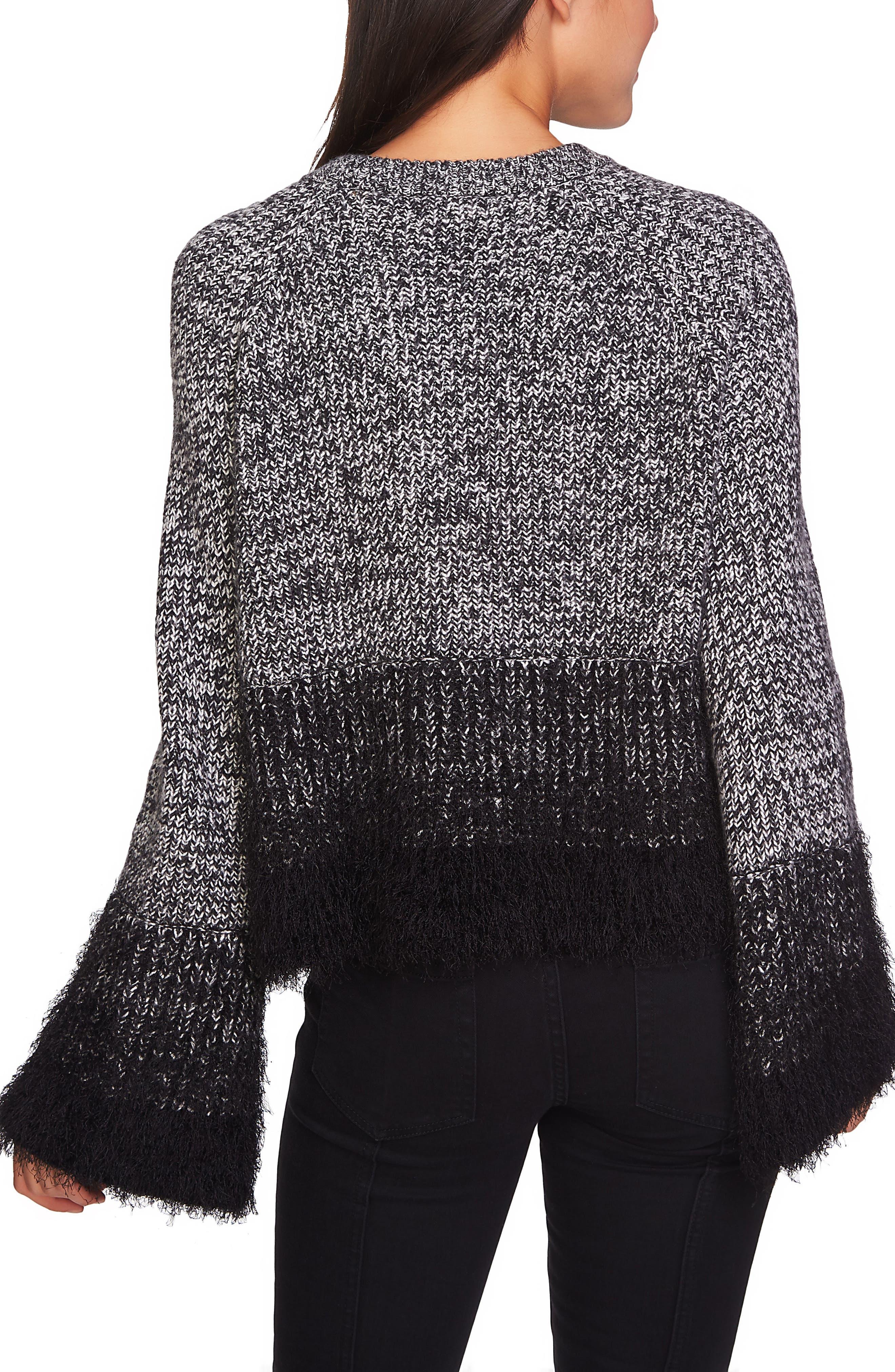 Eyelash Fringe Sweater,                             Alternate thumbnail 2, color,                             006