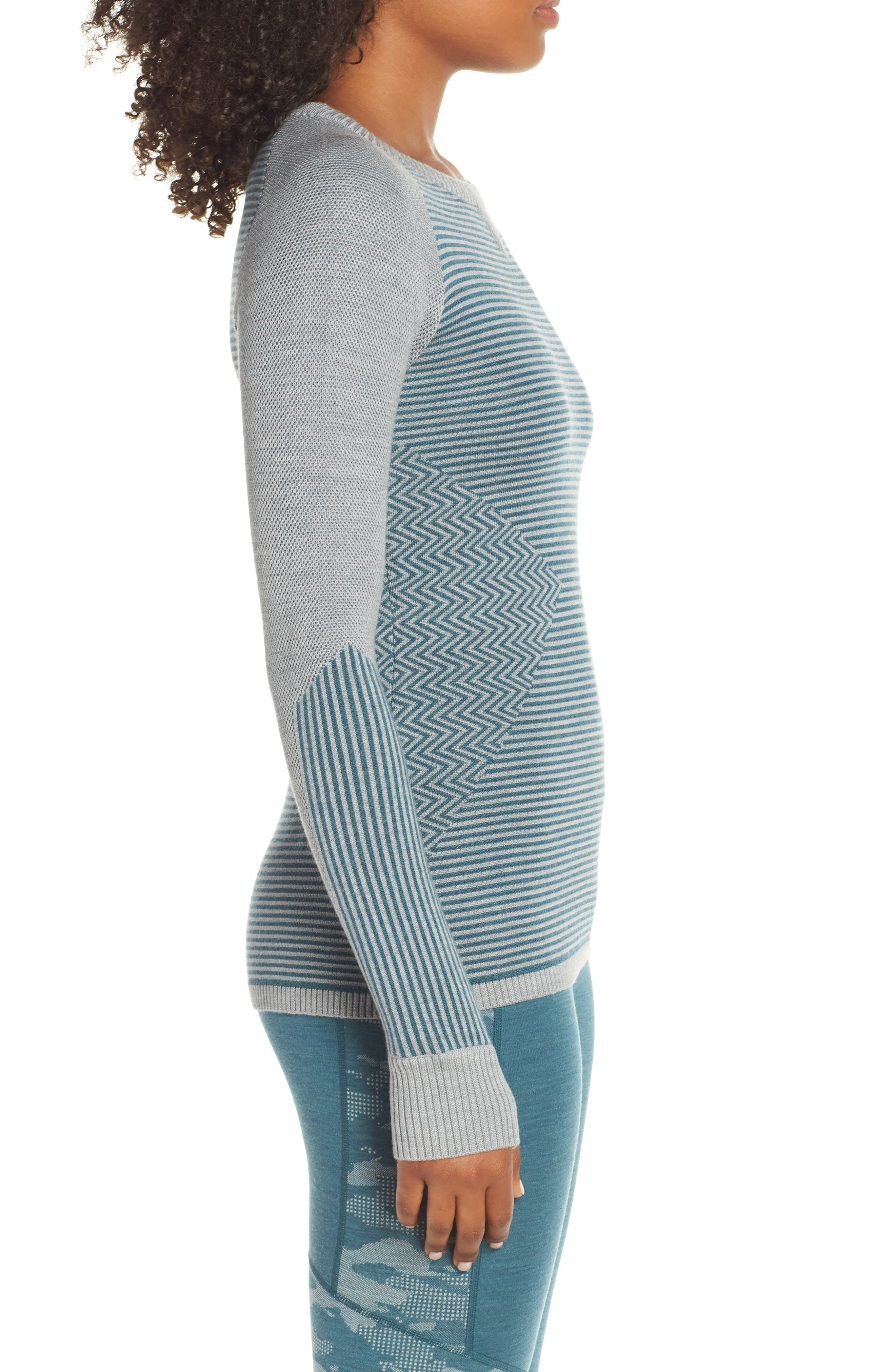 SMARTWOOL,                             Dacono Ski Sweater,                             Alternate thumbnail 3, color,                             310