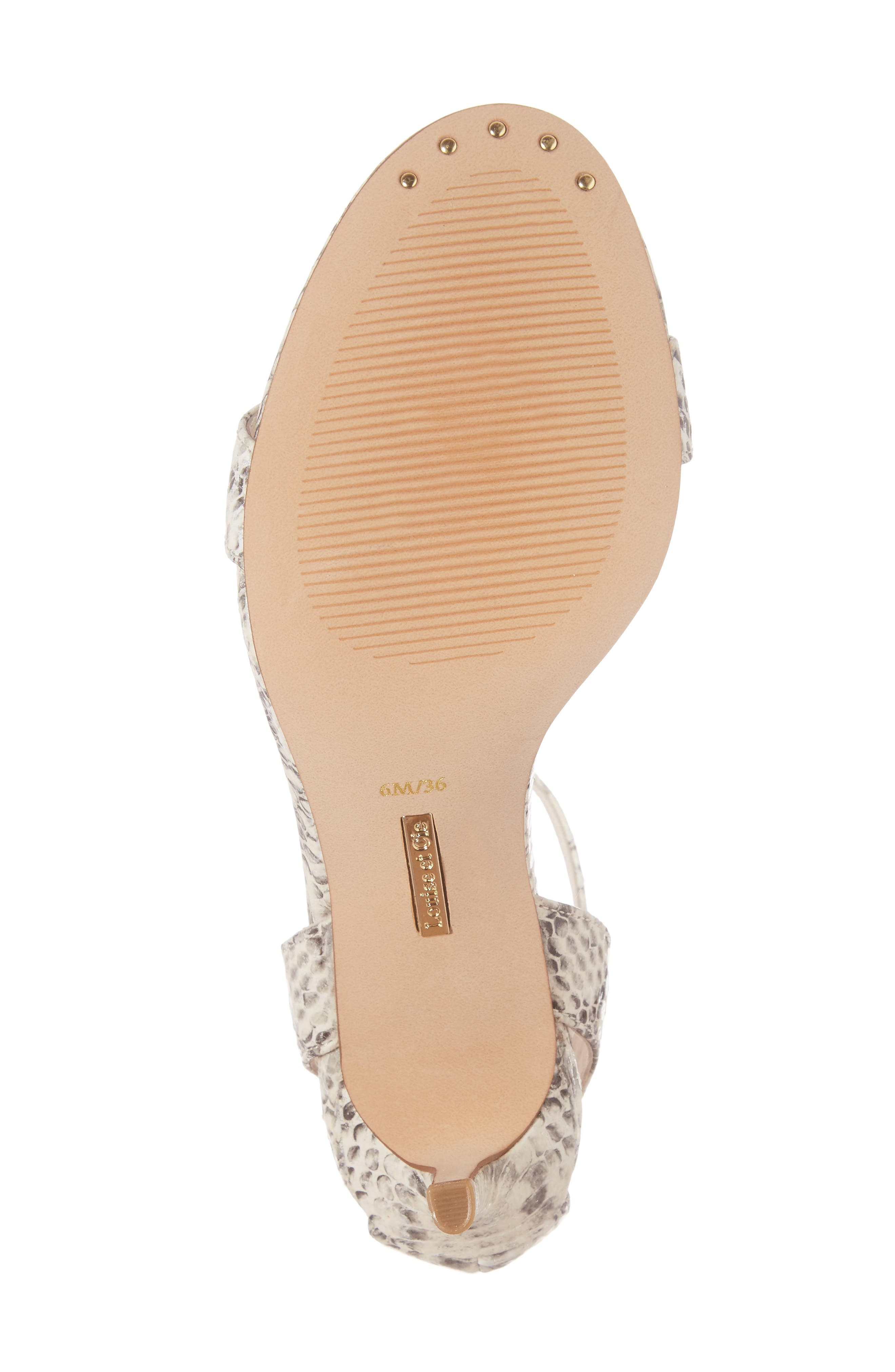 'Hyacinth' Ankle Strap Sandal,                             Alternate thumbnail 6, color,                             110