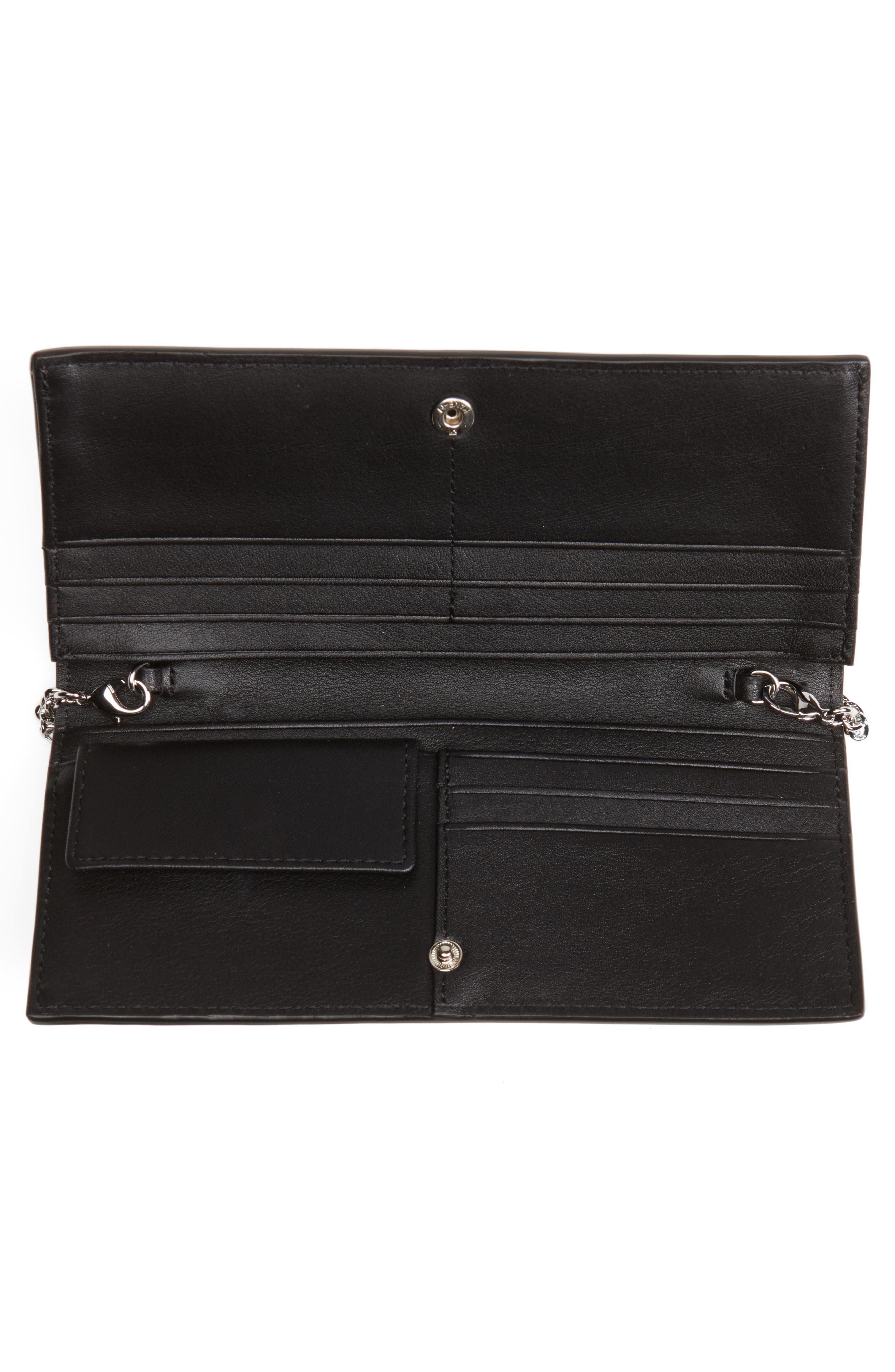 Keel Leather Wallet,                             Alternate thumbnail 4, color,                             001
