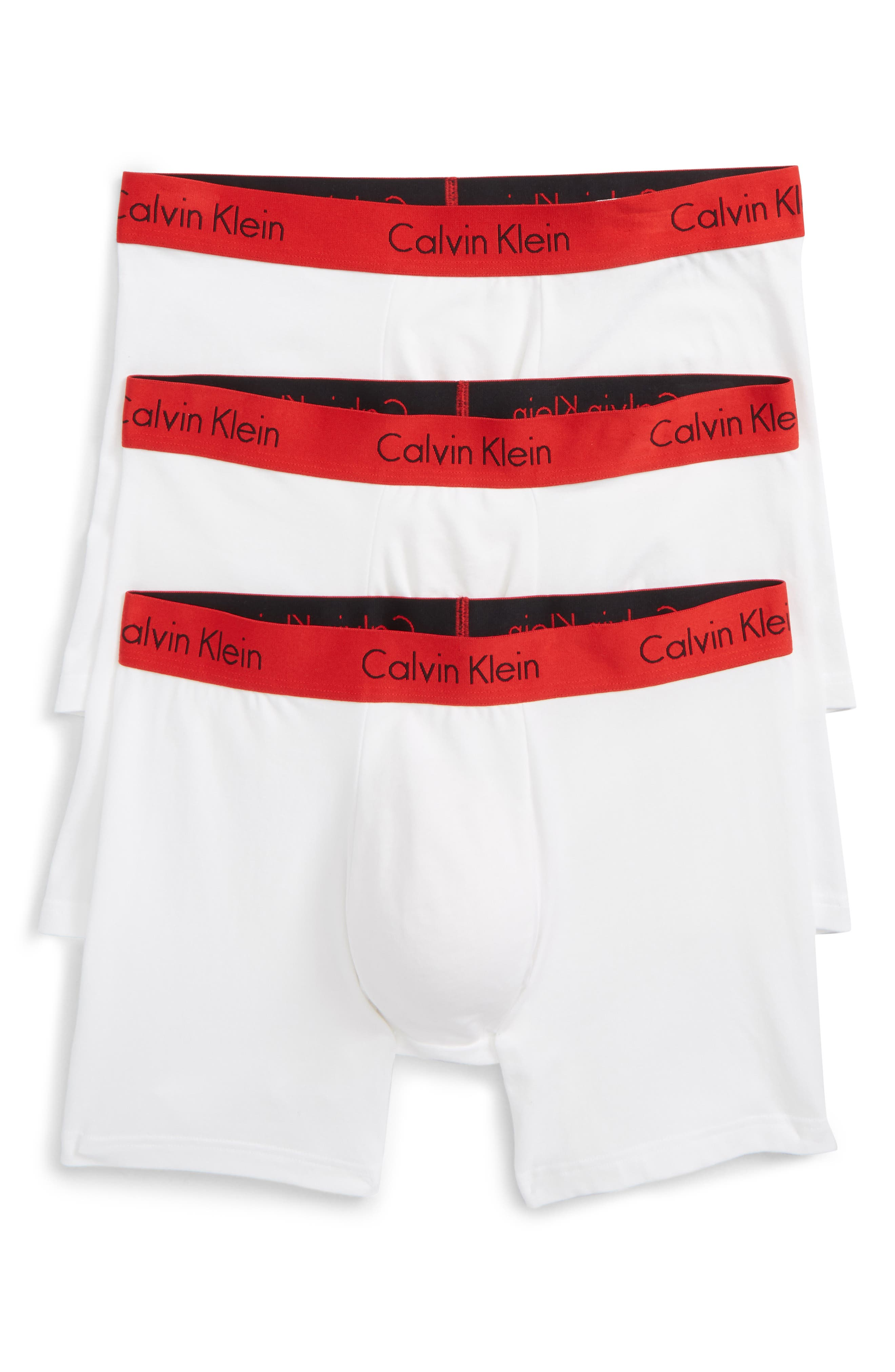 3-Pack Boxer Briefs,                         Main,                         color, WHITE