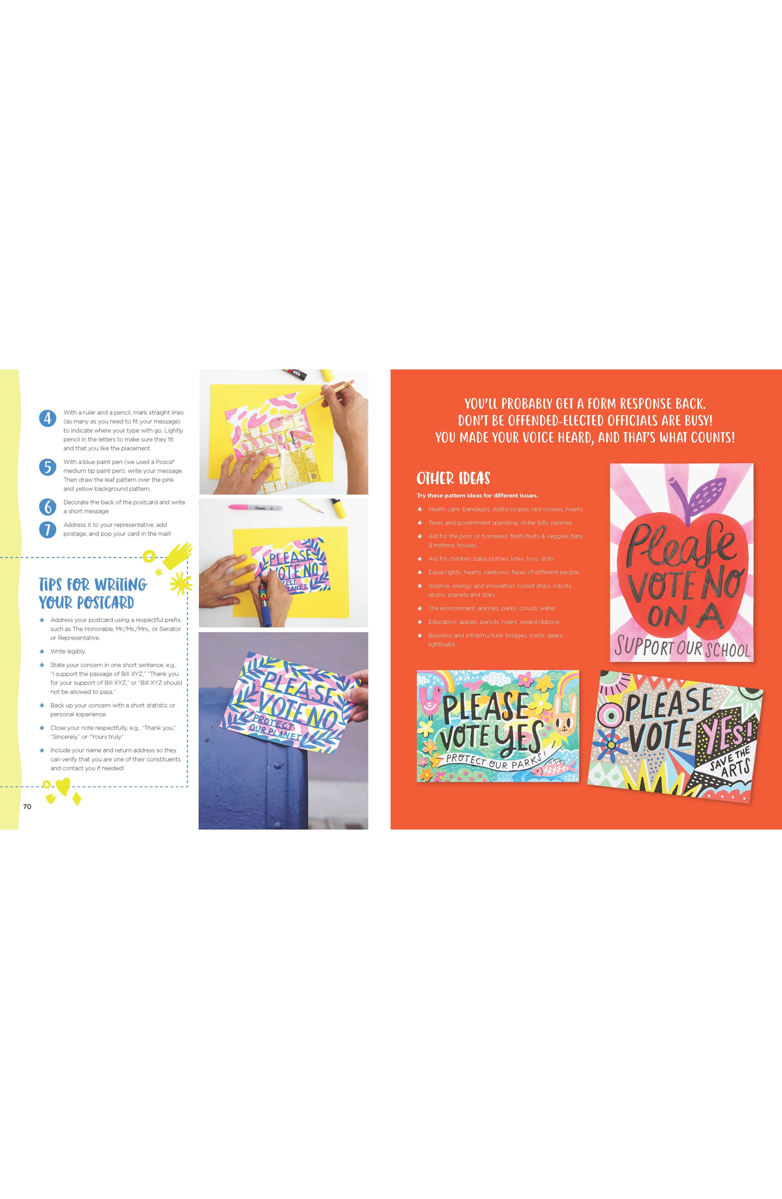 'Be the Change' Book,                             Alternate thumbnail 4, color,                             400