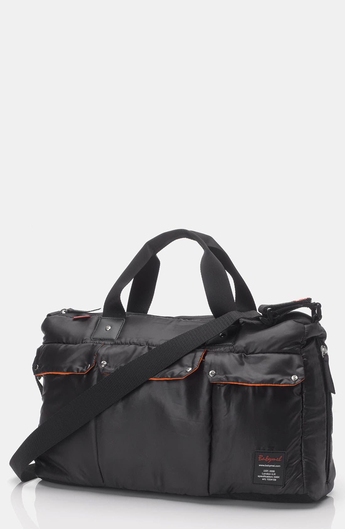 'Soho' Messenger Diaper Bag,                         Main,                         color, 001