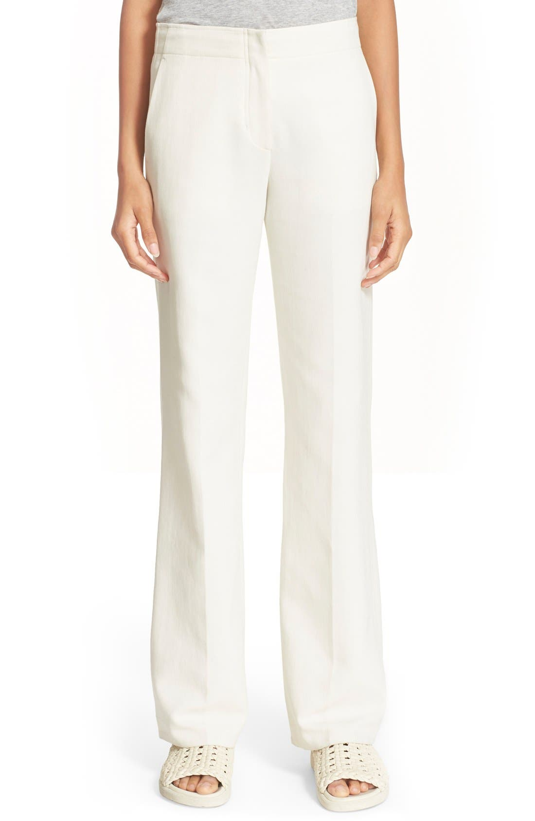 Cotton Flare Pants,                             Main thumbnail 1, color,                             900