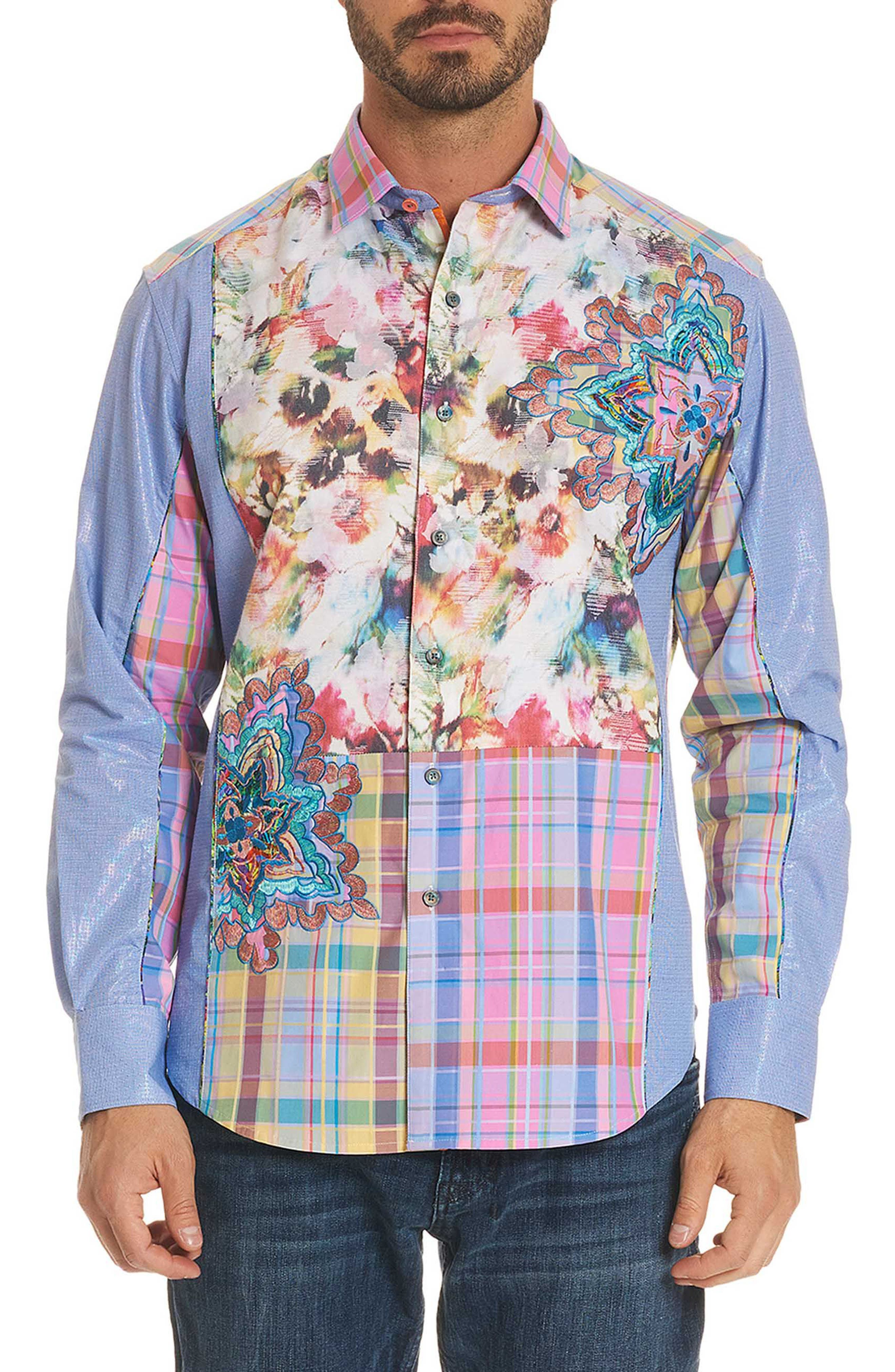 Be Frank Limited Edition Classic Fit Sport Shirt,                         Main,                         color,
