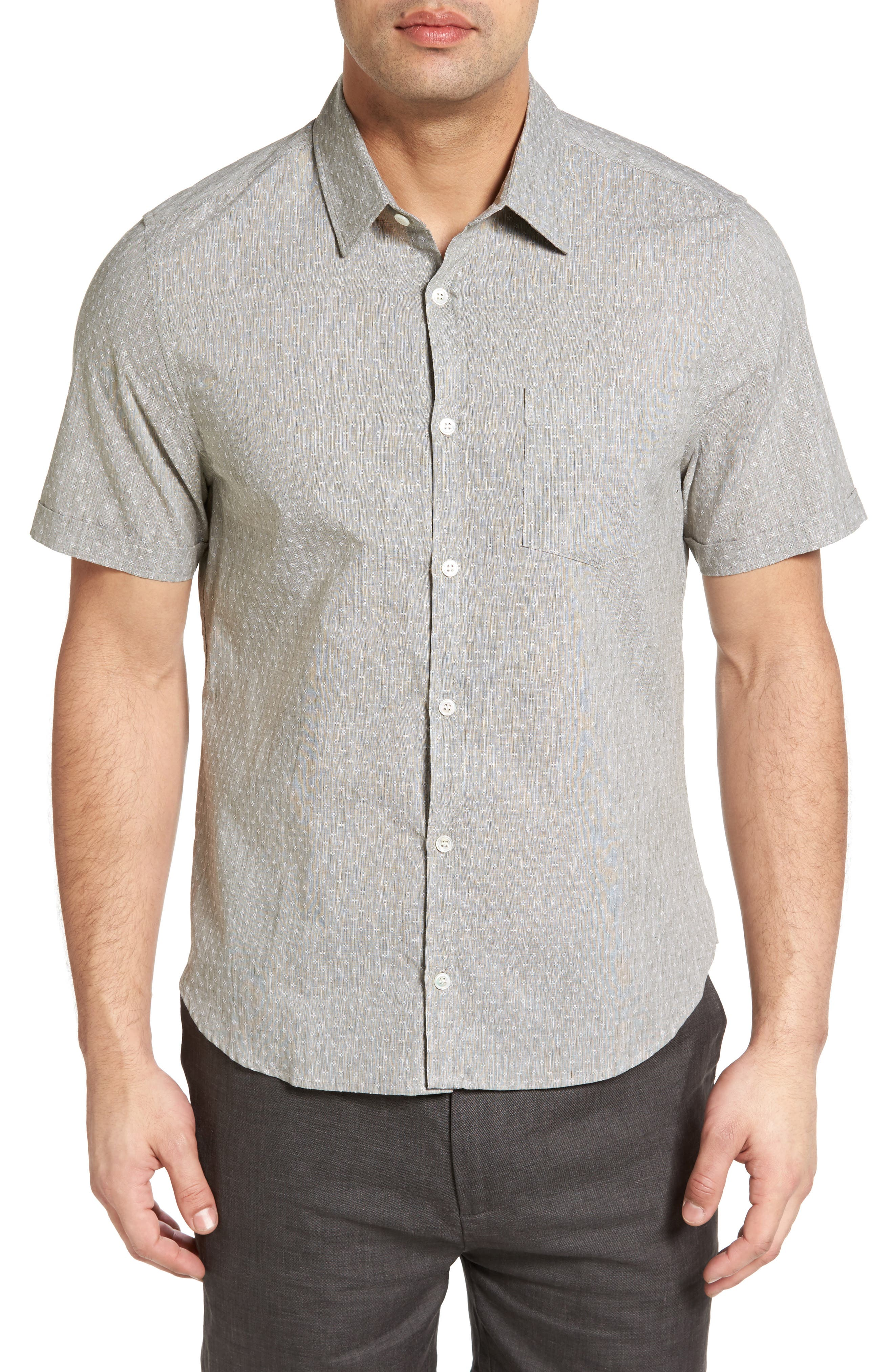 LANAI COLLECTION Classic Fit Sport Shirt, Main, color, 310