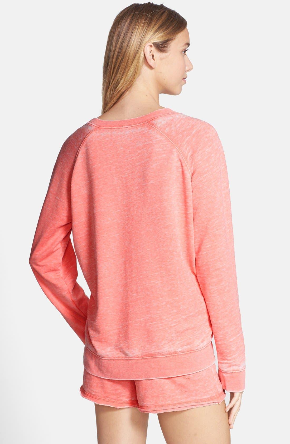 Burnout Lounge Sweatshirt,                             Alternate thumbnail 182, color,