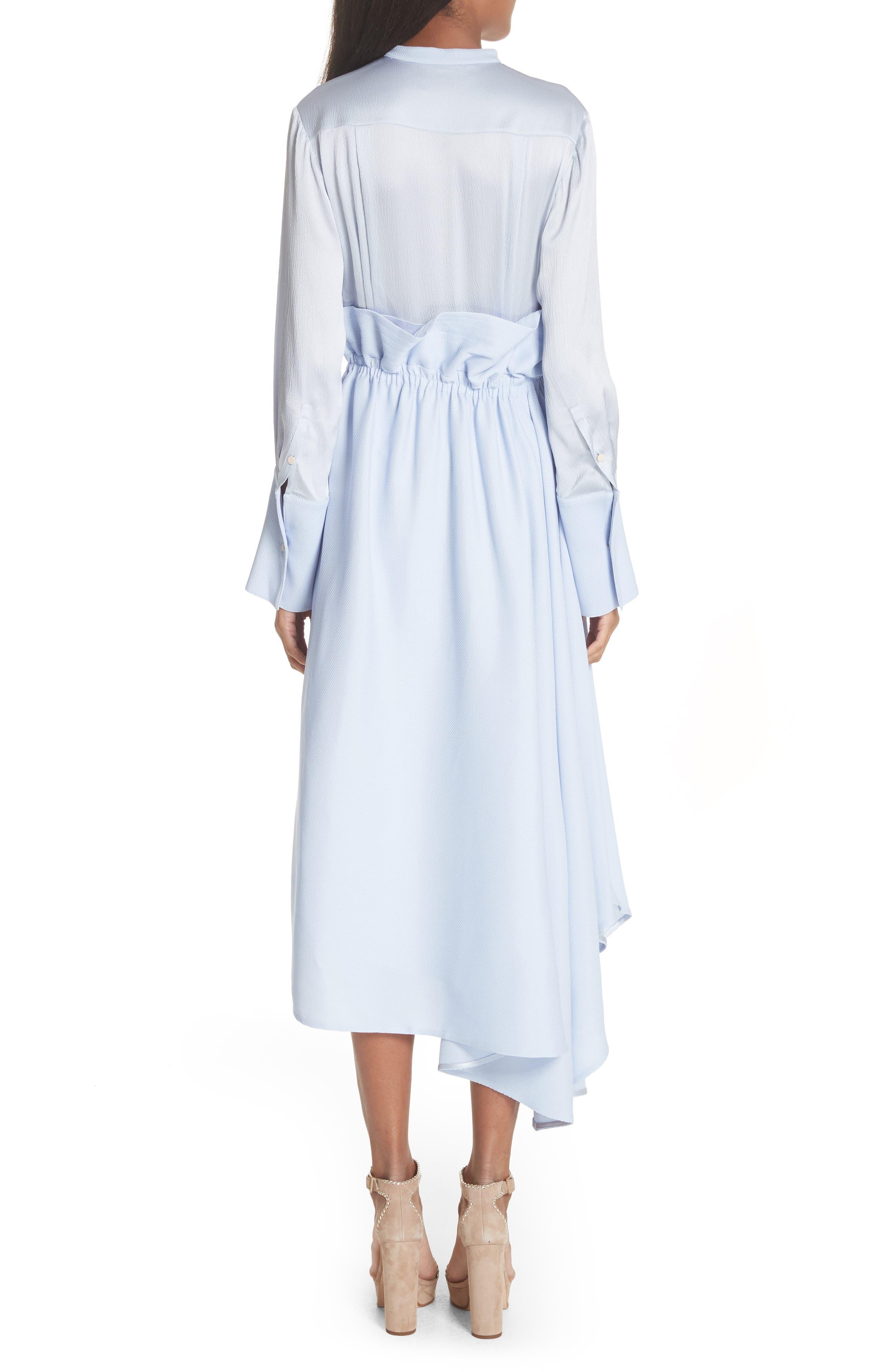 Micah Silk Dress,                             Alternate thumbnail 2, color,                             400