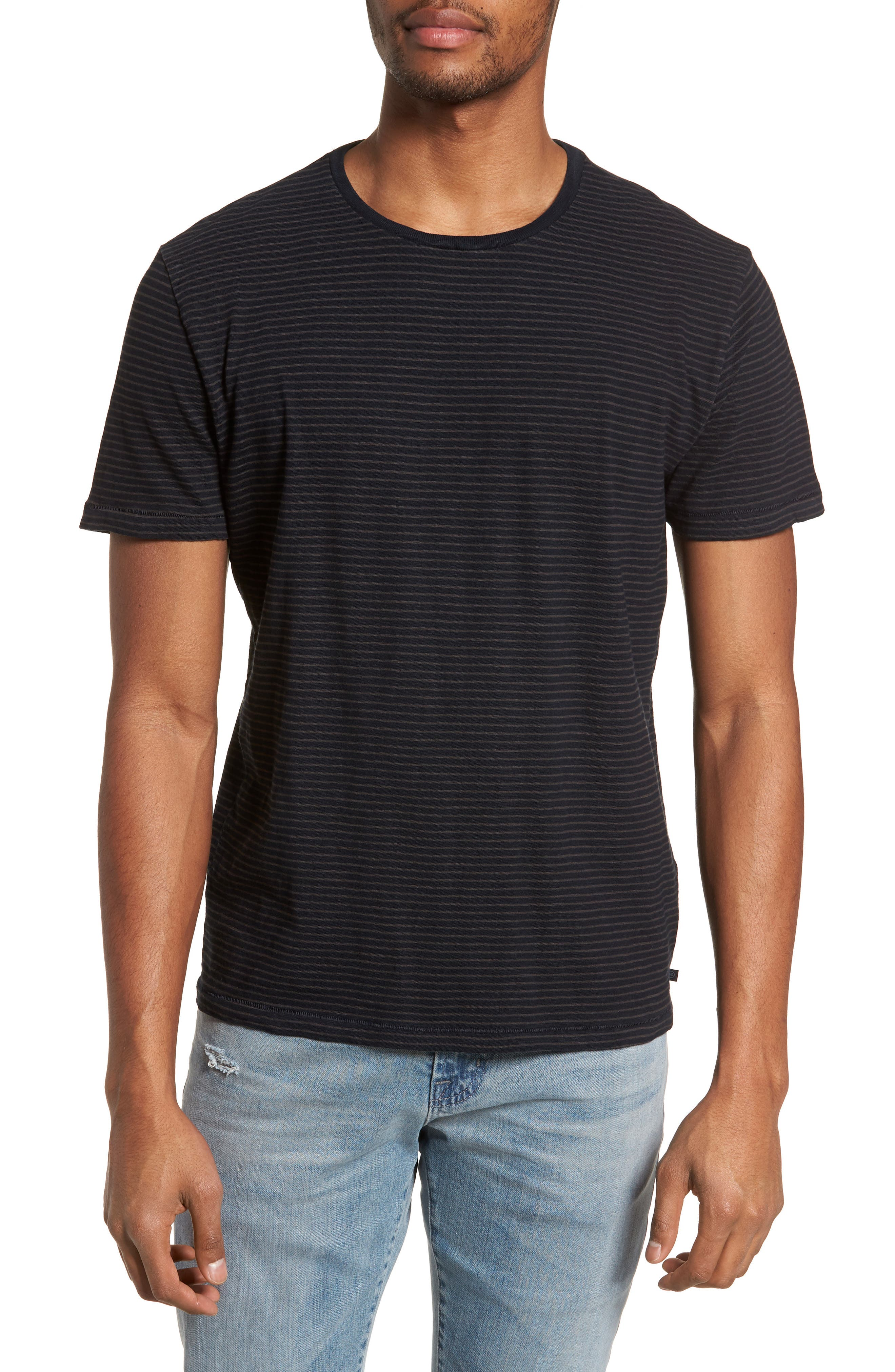 Julian Slim Fit Crewneck Shirt,                             Main thumbnail 1, color,