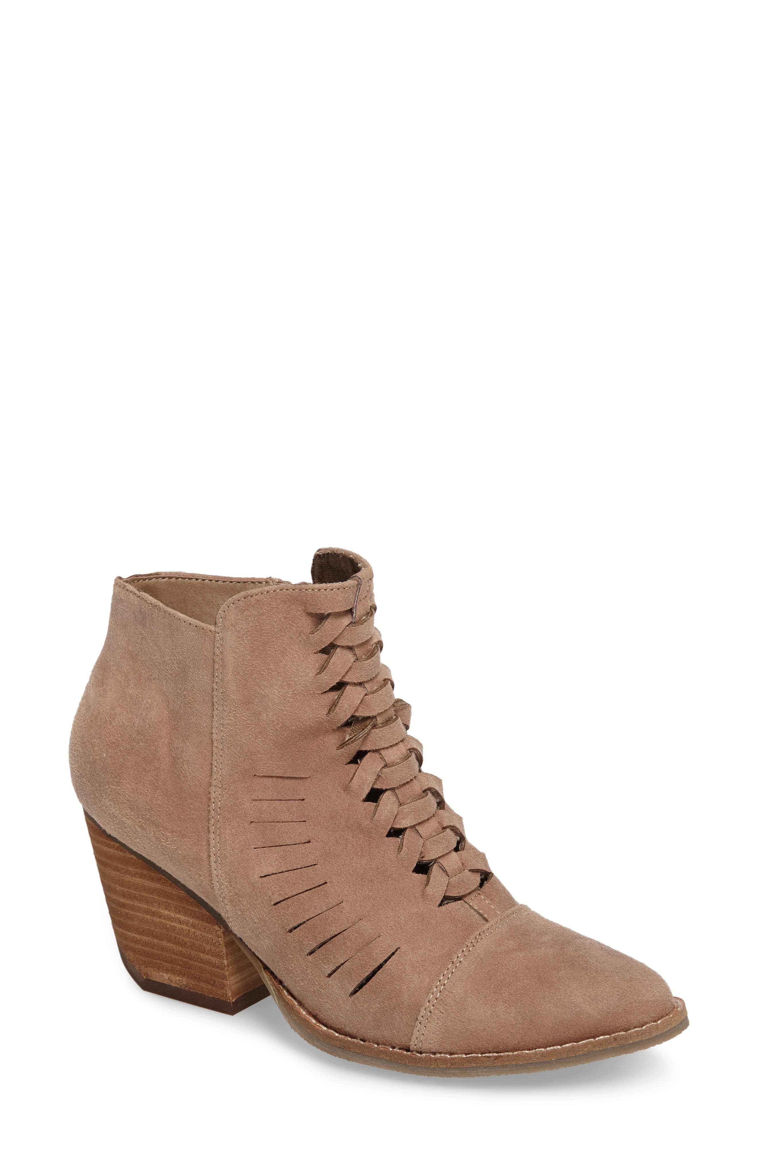 Ally Woven Bootie,                         Main,                         color,