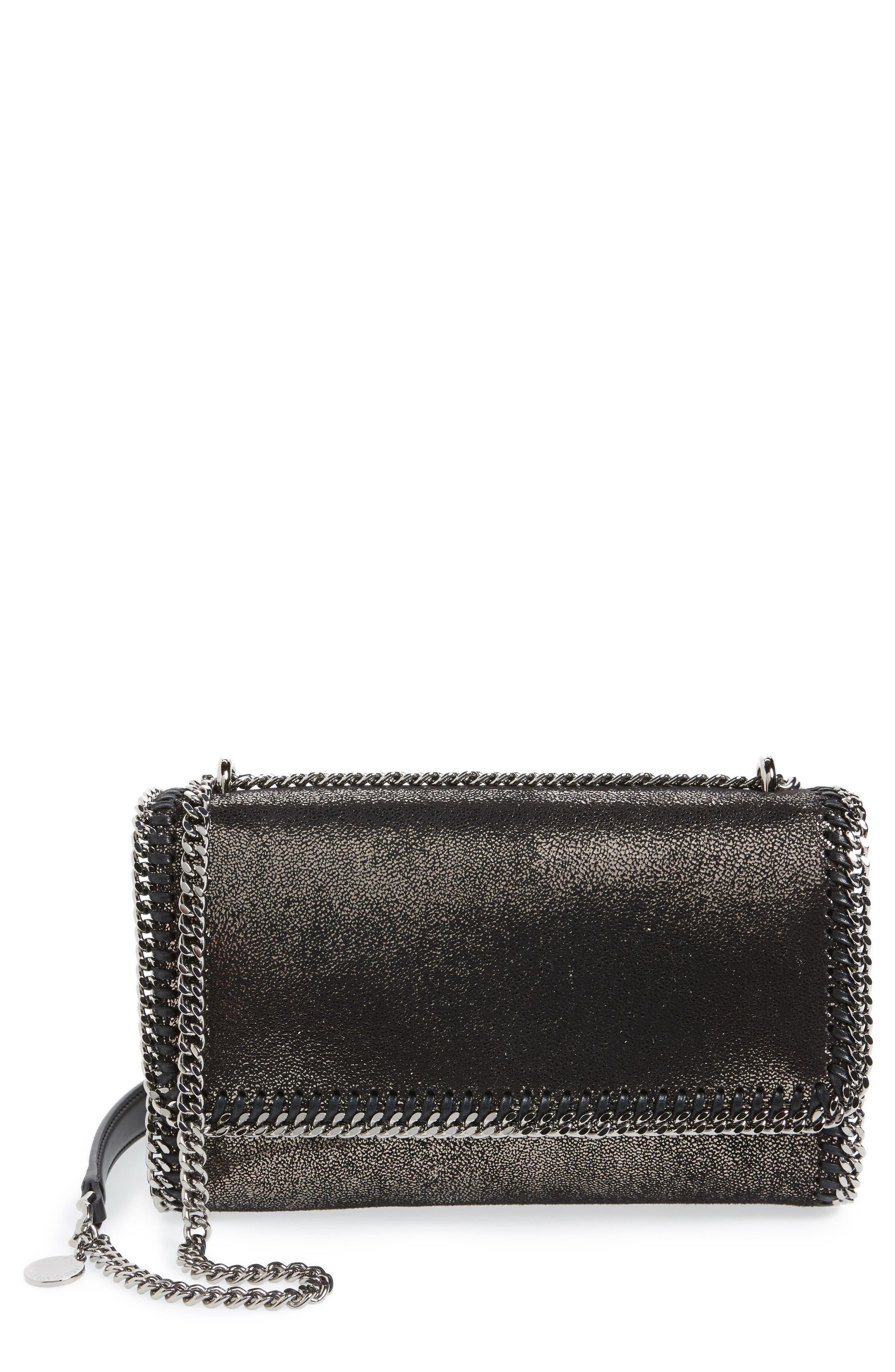 Faux Leather Flap Shoulder Bag,                             Main thumbnail 1, color,                             041