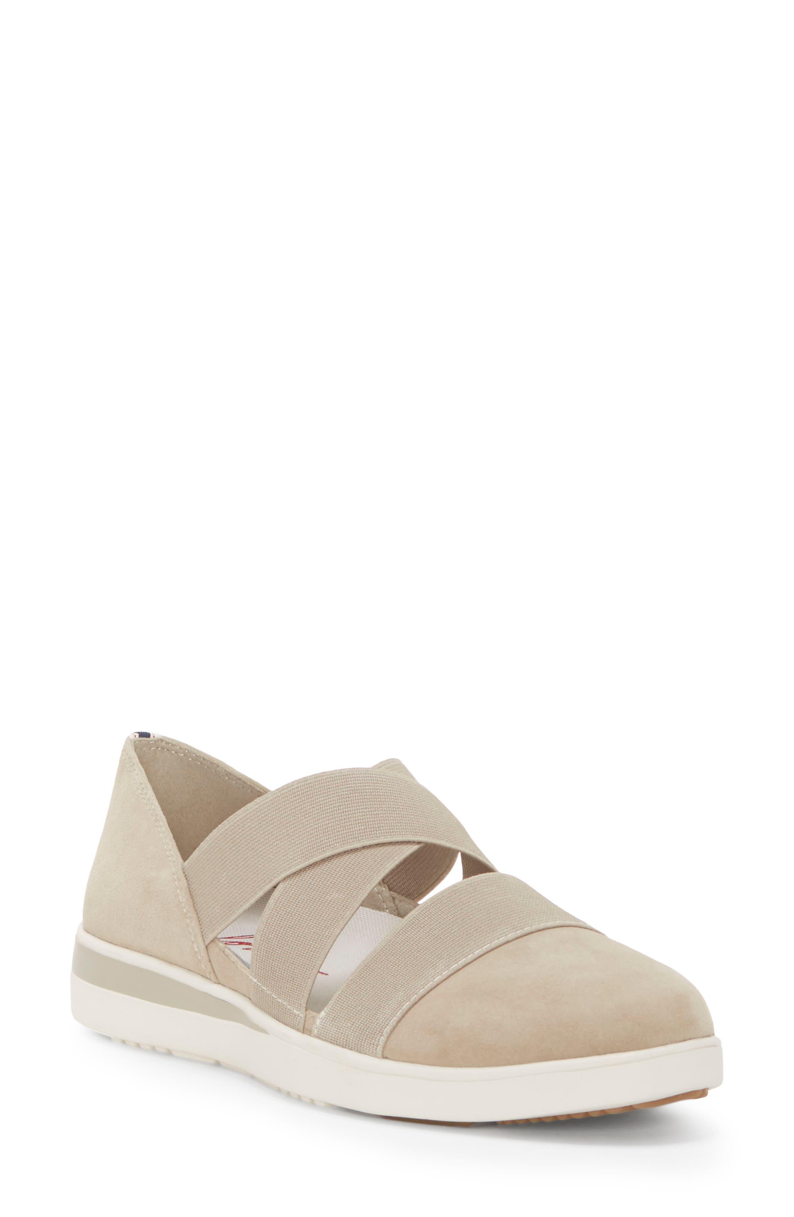 Alskara Slip-On Sneaker Flat,                         Main,                         color, BRINDLE SUEDE