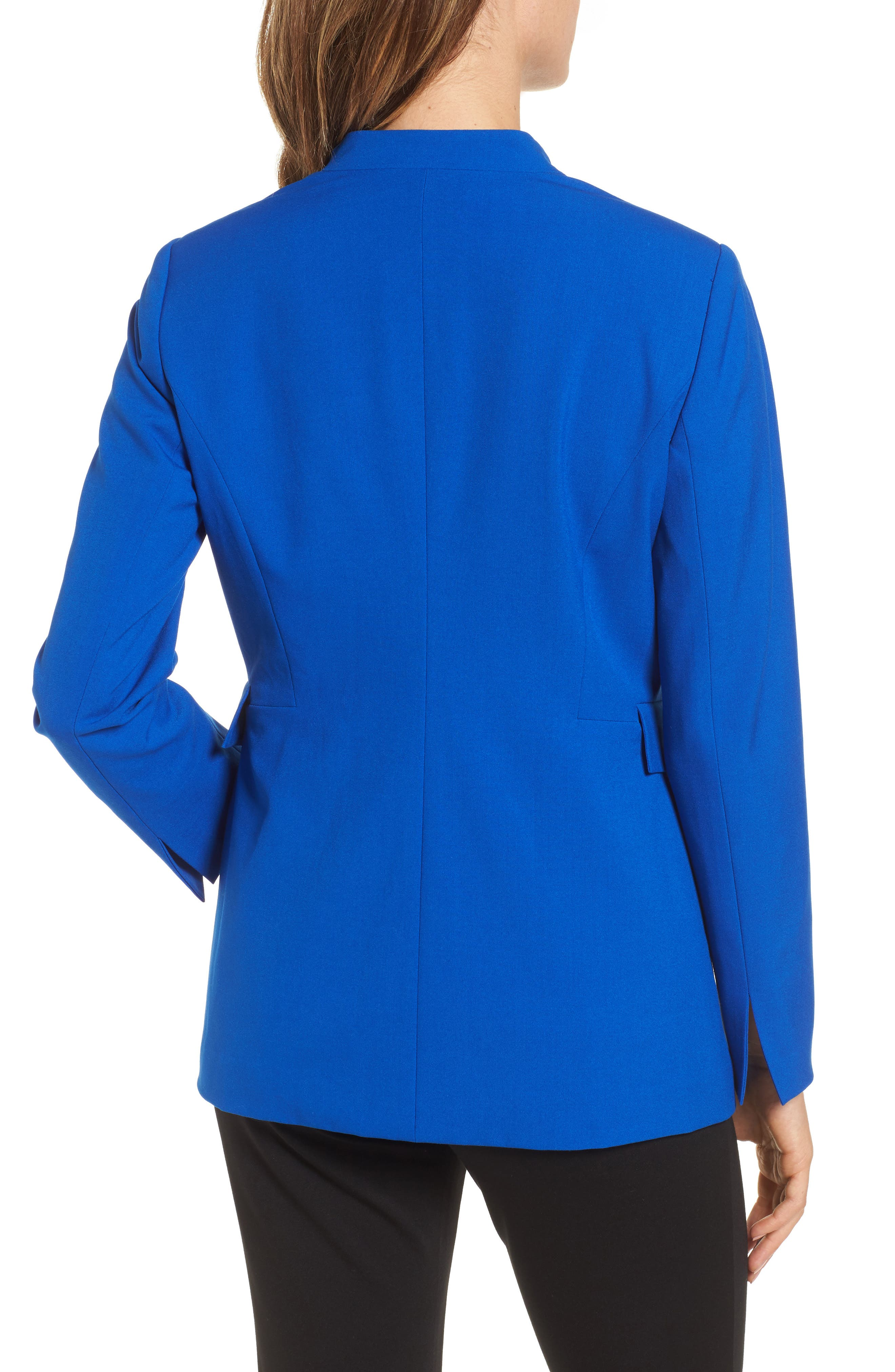 Drape Front Jacket,                             Alternate thumbnail 2, color,