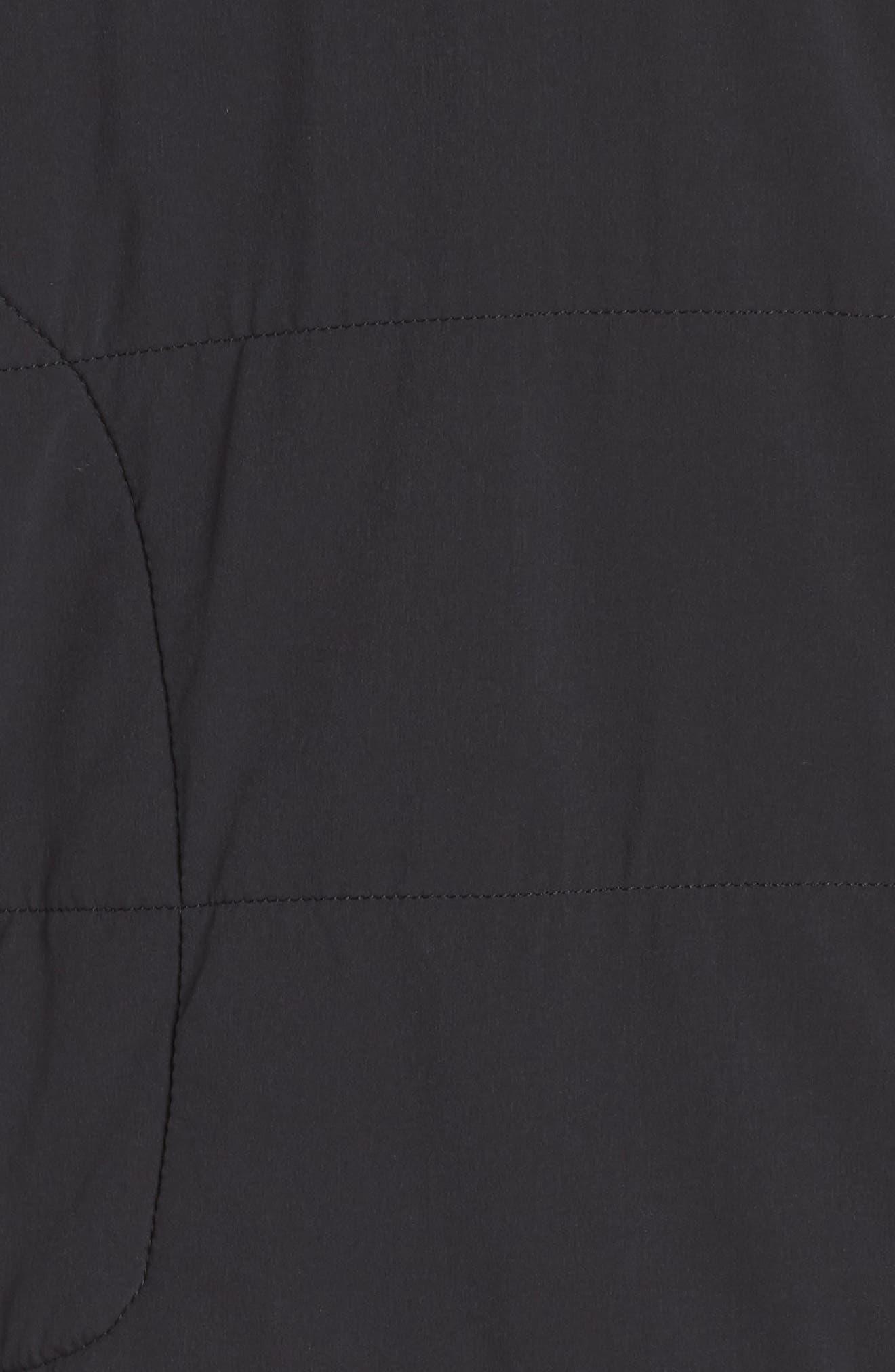 Mountain Snap Neck Sweatshirt,                             Alternate thumbnail 6, color,                             001