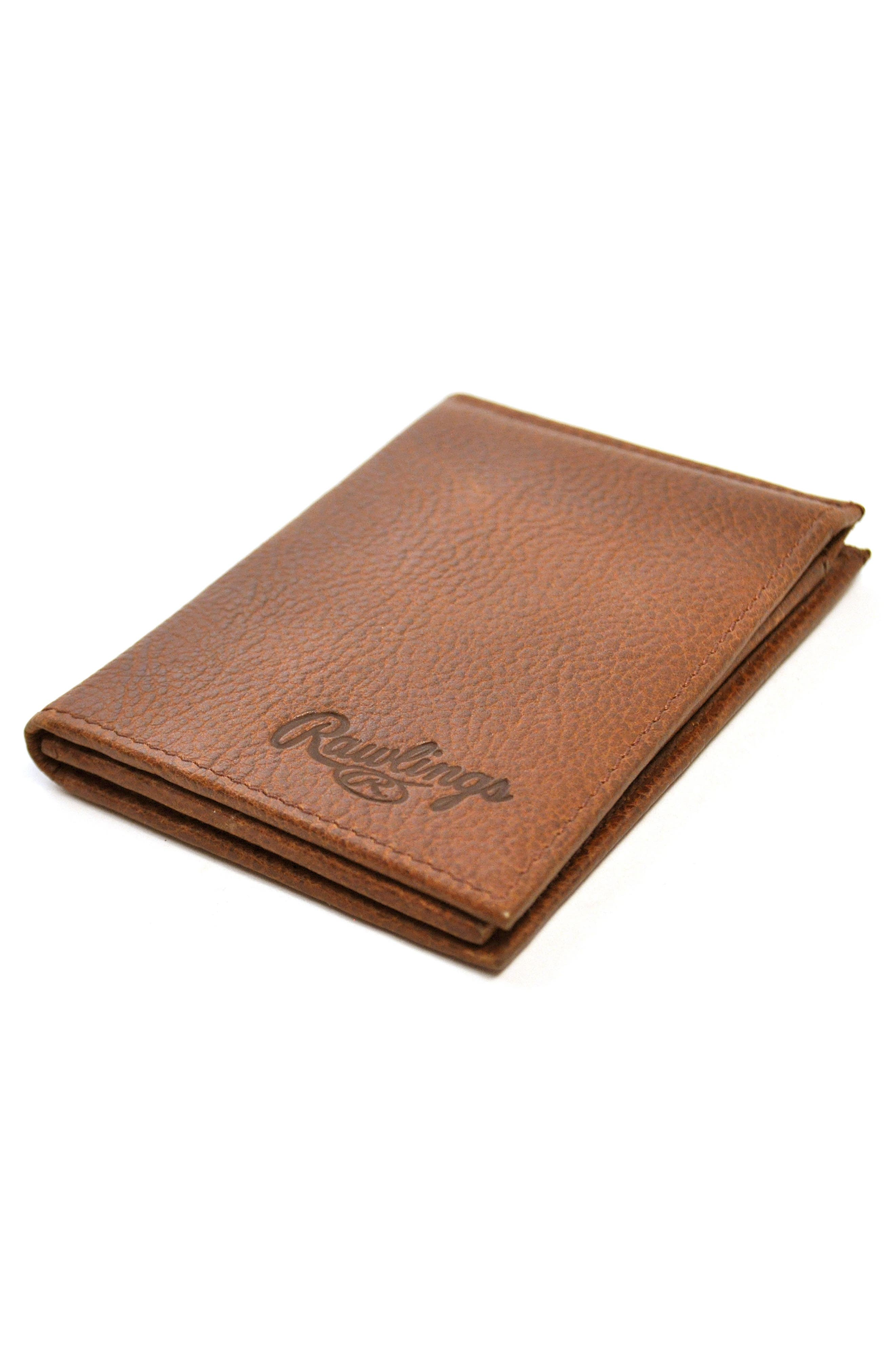 Triple Play Leather L-Fold Wallet,                             Alternate thumbnail 7, color,                             202