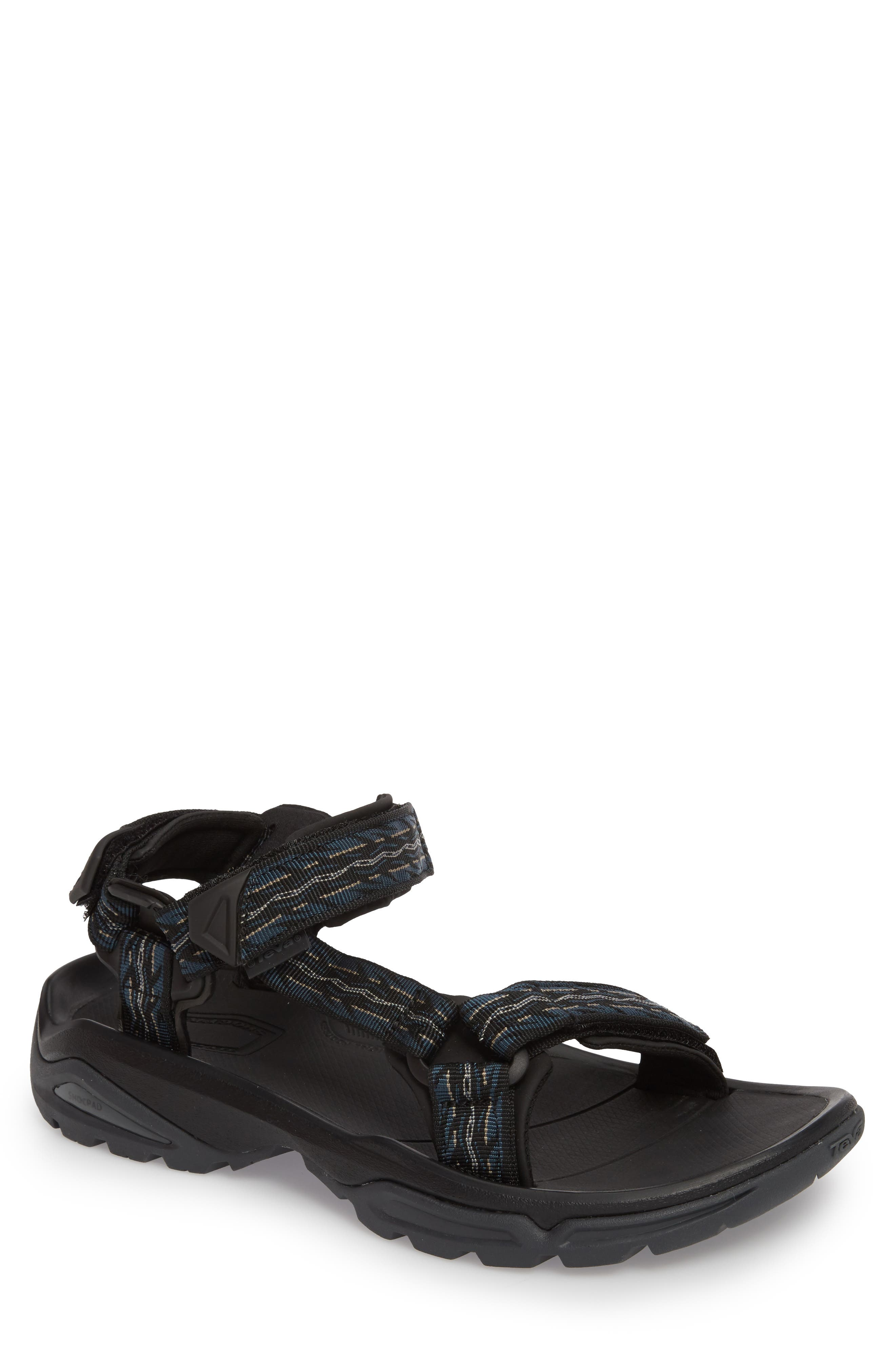Terra Fi 4 Sport Sandal,                             Main thumbnail 1, color,                             MIDNIGHT BLUE NYLON