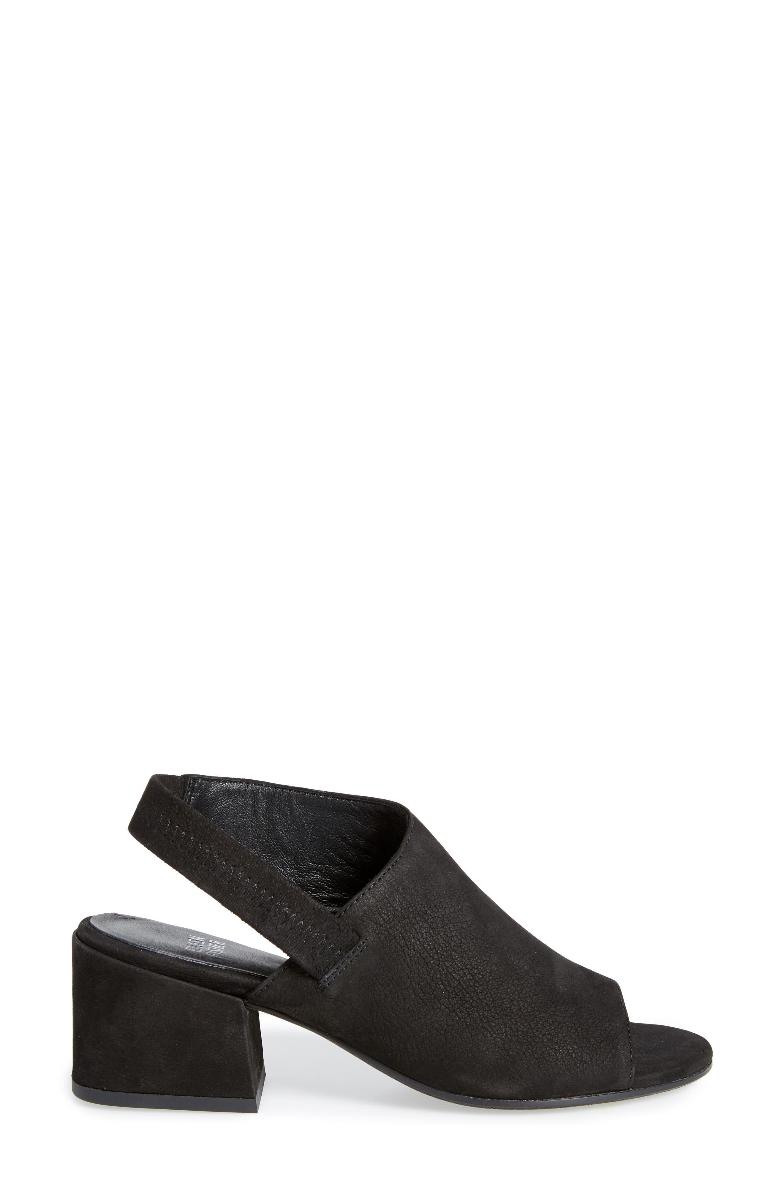 Leigh Asymmetrical Slingback Sandal,                             Alternate thumbnail 7, color,